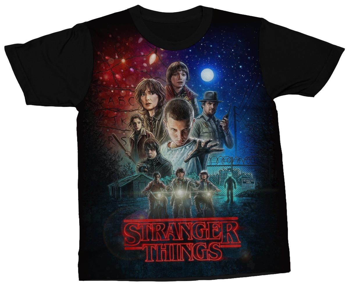 2b1da2da6759 Camisa Stranger Things Serie Seriado | Elo7