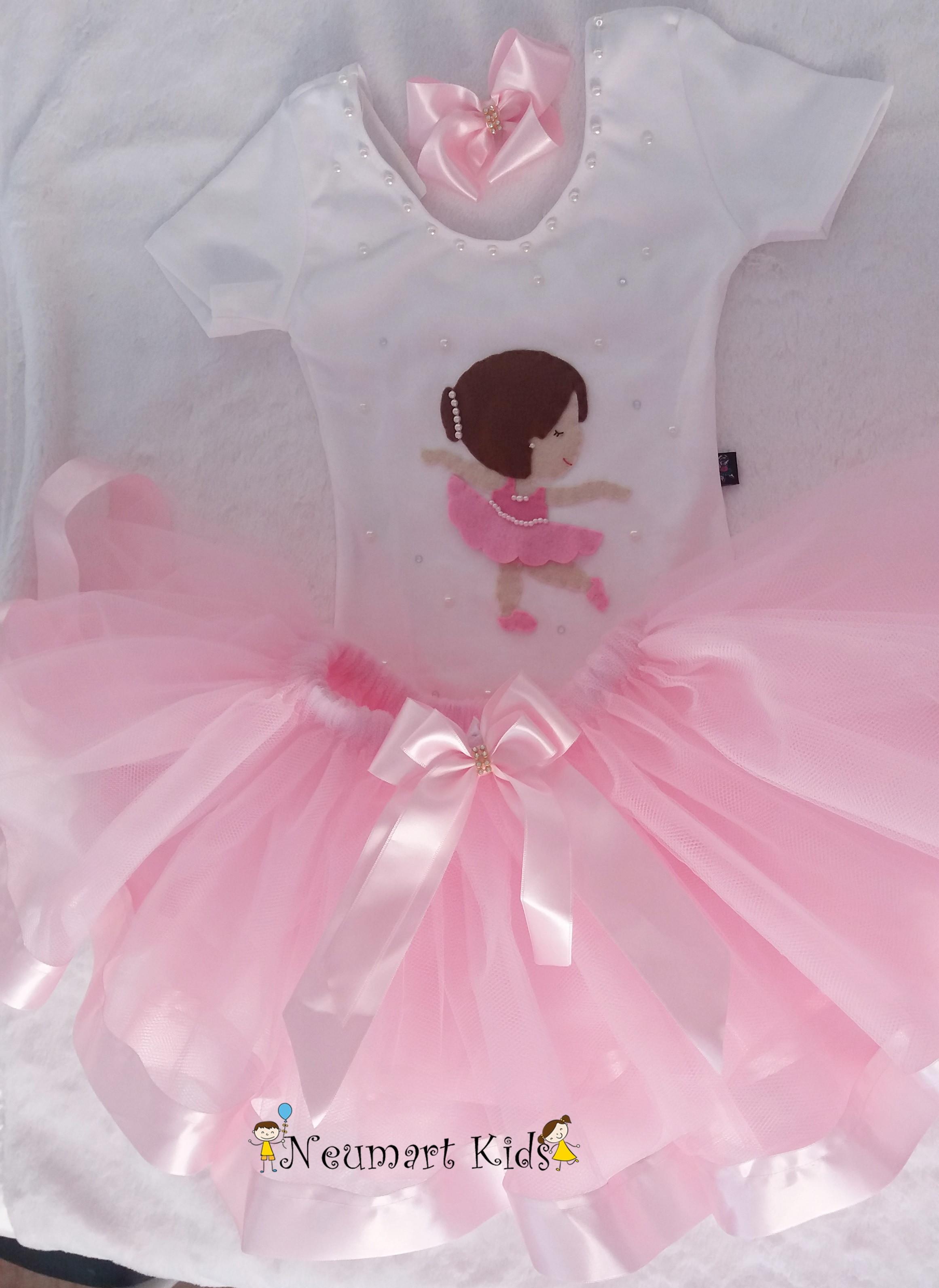 c73bcc9a54 Fantasia Bailarina 6 a 10 Anos
