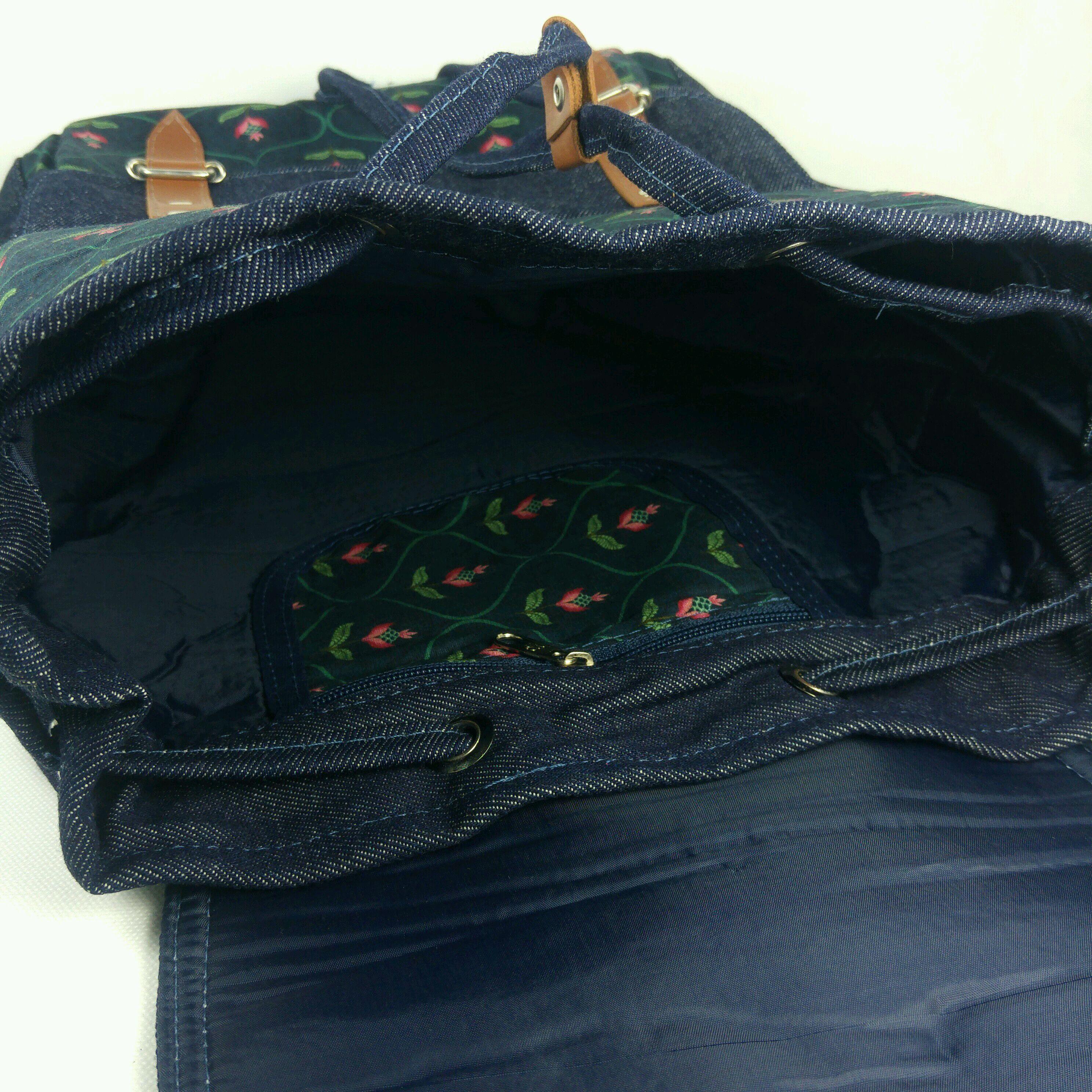 e43c3d353 Mochila Anis Simple jeans no Elo7 | Espaço Mafuá Bolsas (EC5112)