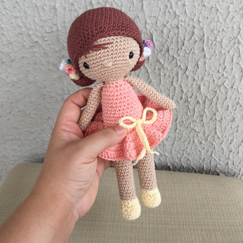 Boneca Chloe Amigurumi croche | Bonecas de crochê, Bonecas ... | 2448x2448