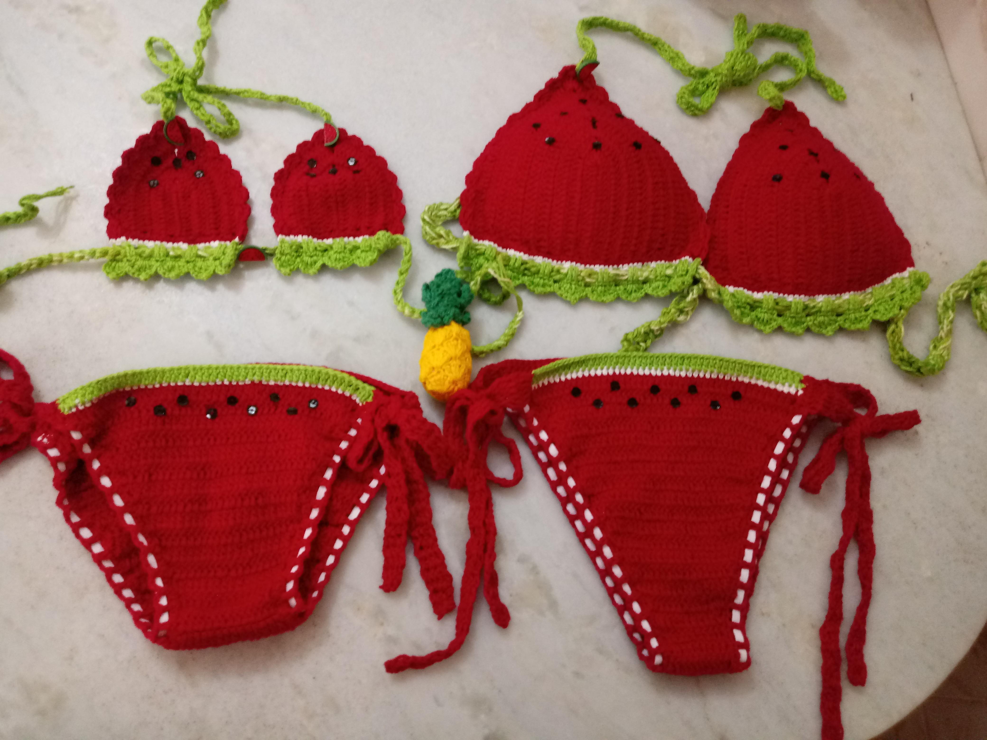1e6c86cf1bf5 Biquinis Croche | Elo7