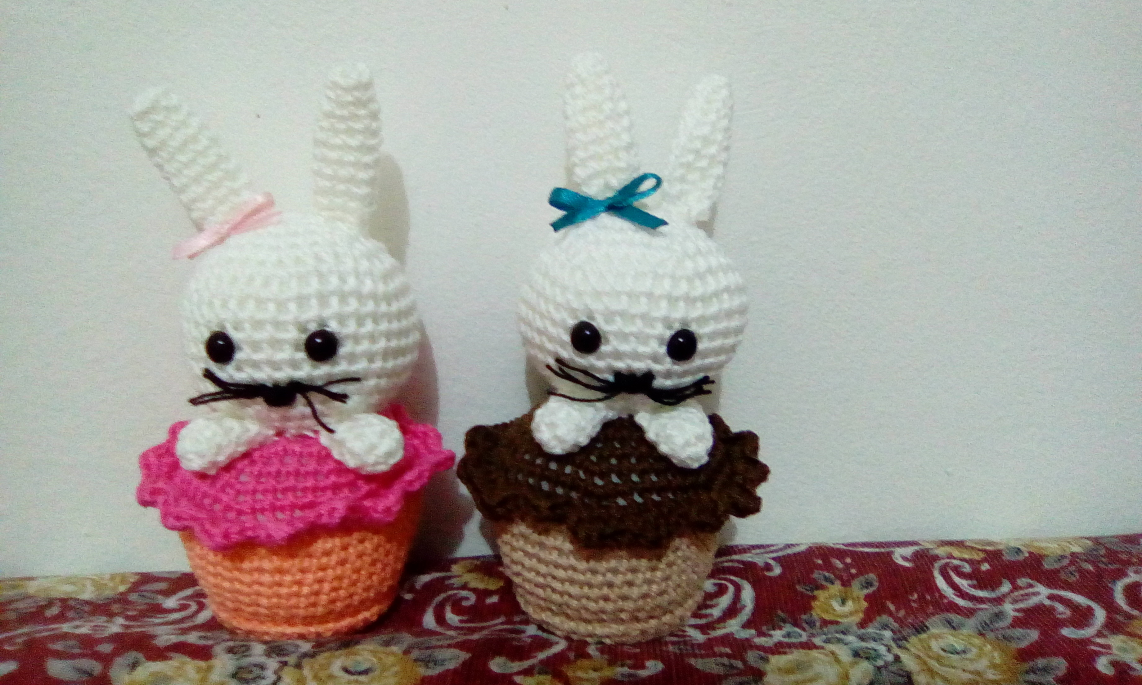 How to crochet a cupcake/ 3d cupcake/ amigurumi cupcake Part 1/2 ... | 2208x3680