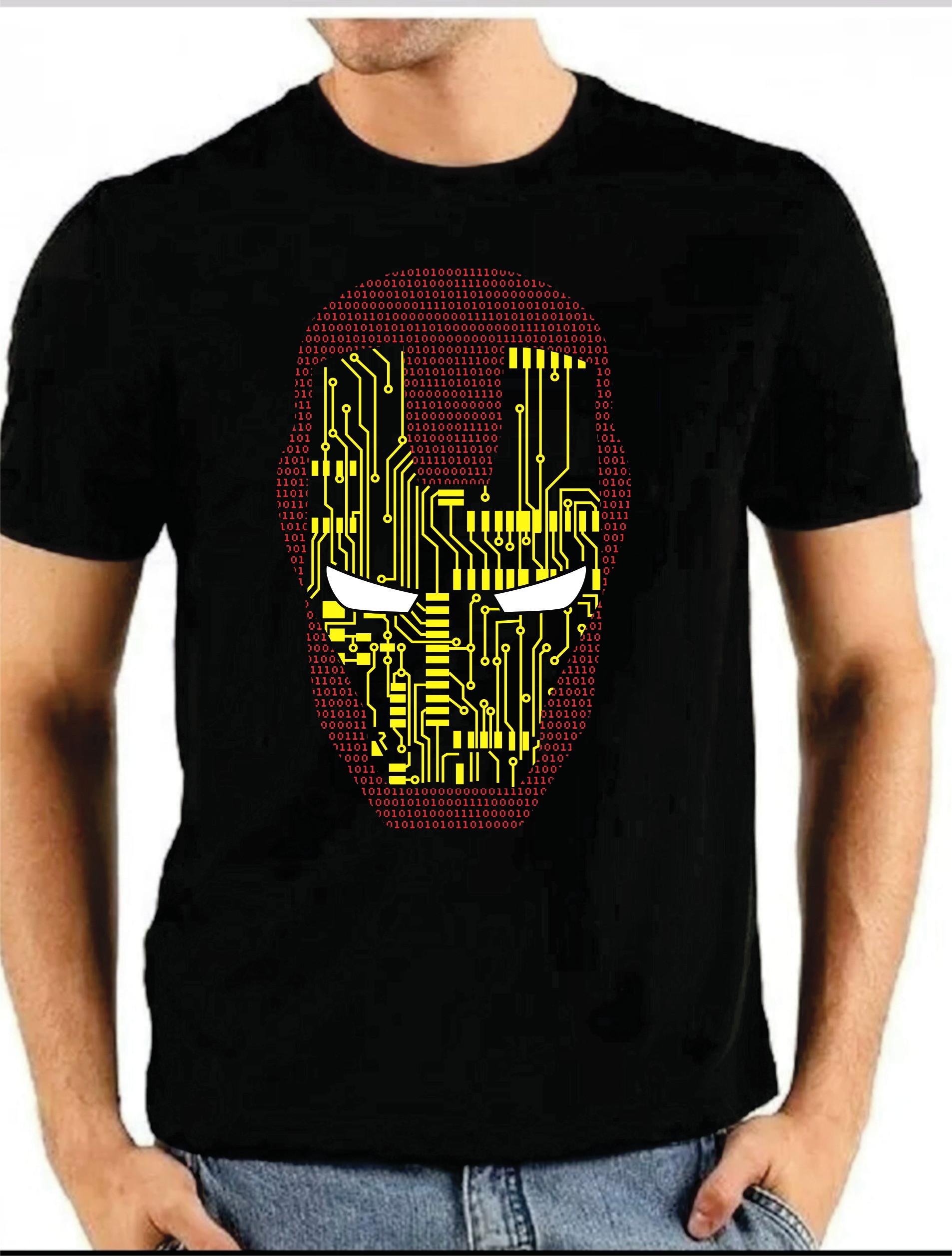 Camisa Camiseta Homem De Ferro Vingadores Ultimato