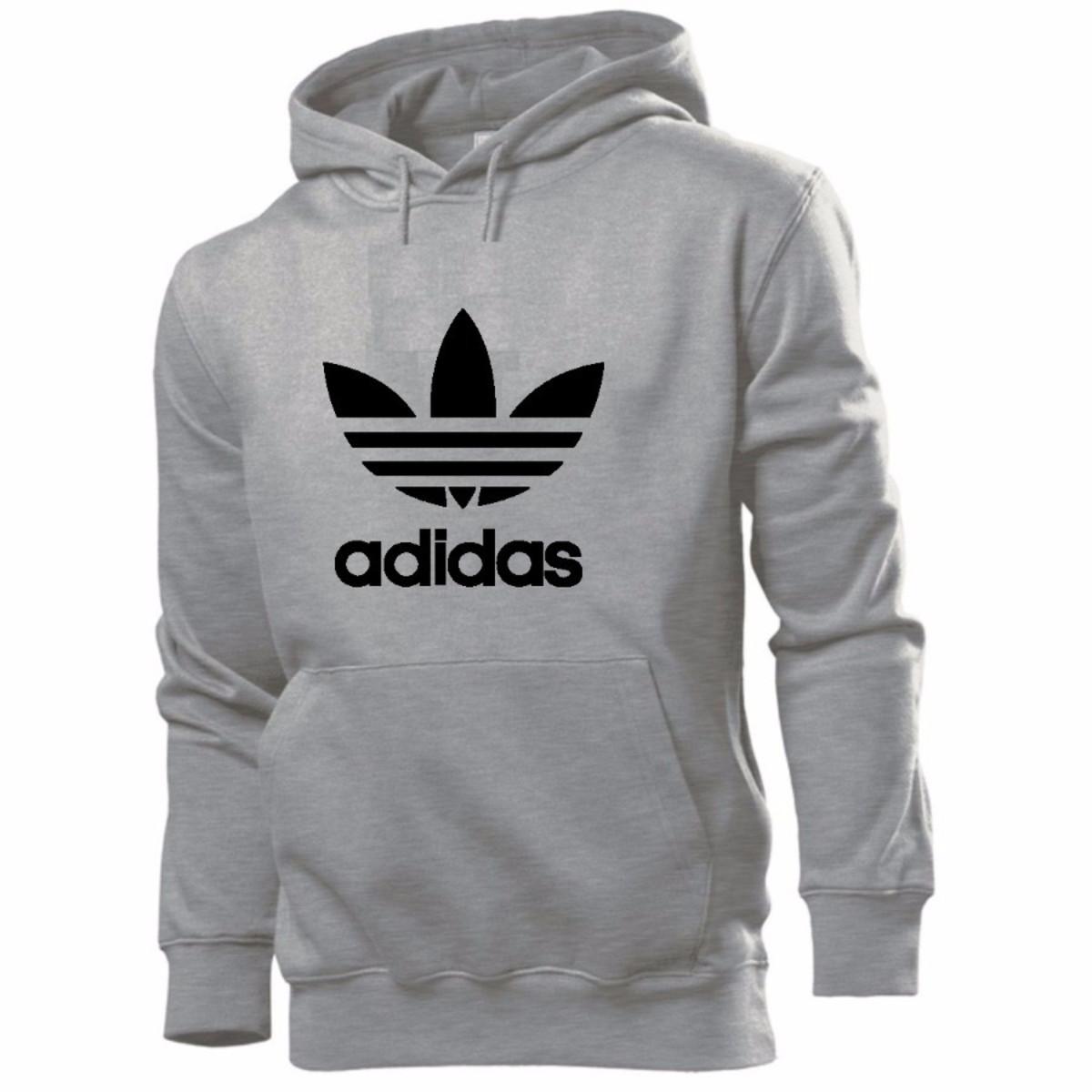 232af0e8988 Blusa Moletom Adidas + Chaveiro Brinde no Elo7