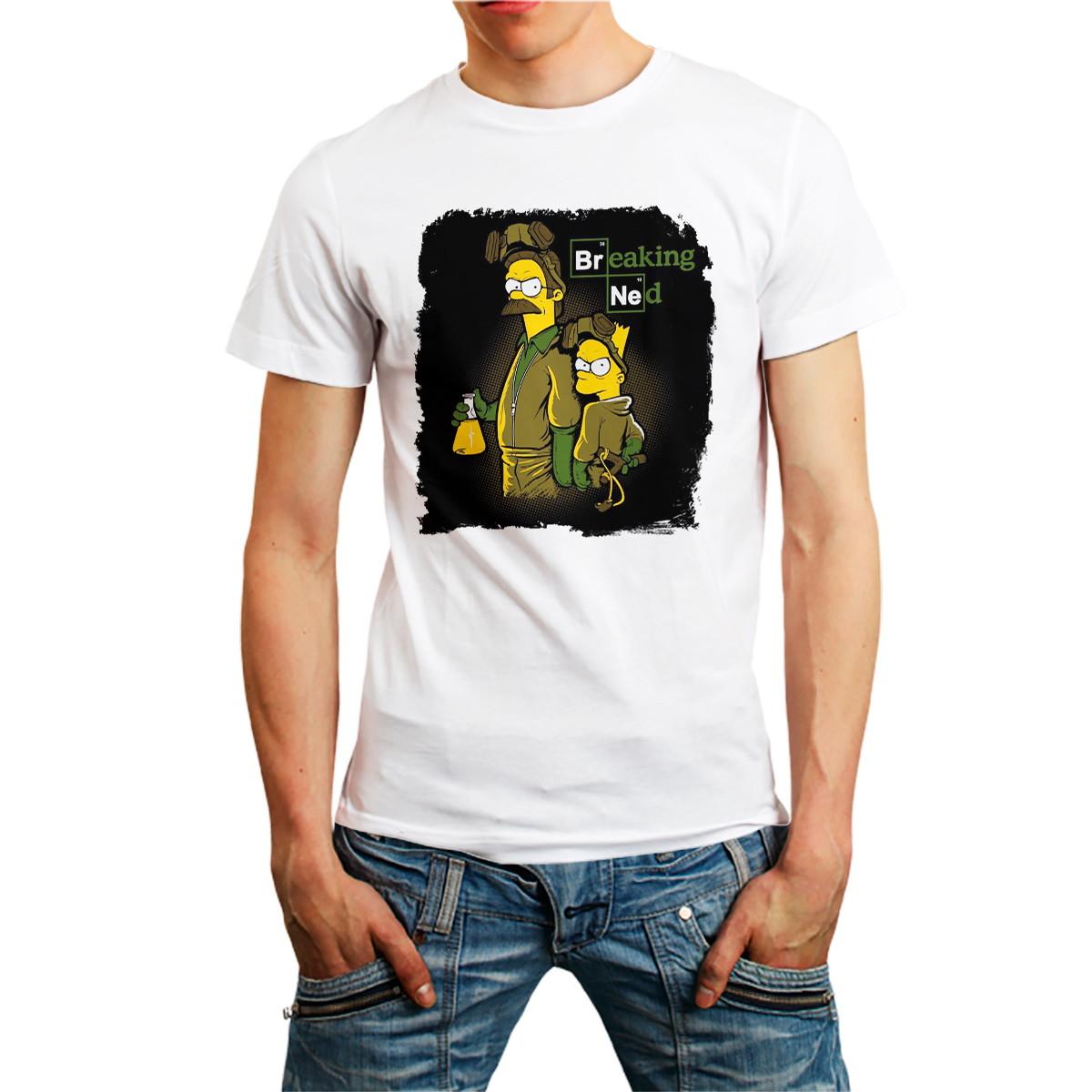 7d079a83b Camiseta Camisa Personalizada Desenho os Simpsons 10