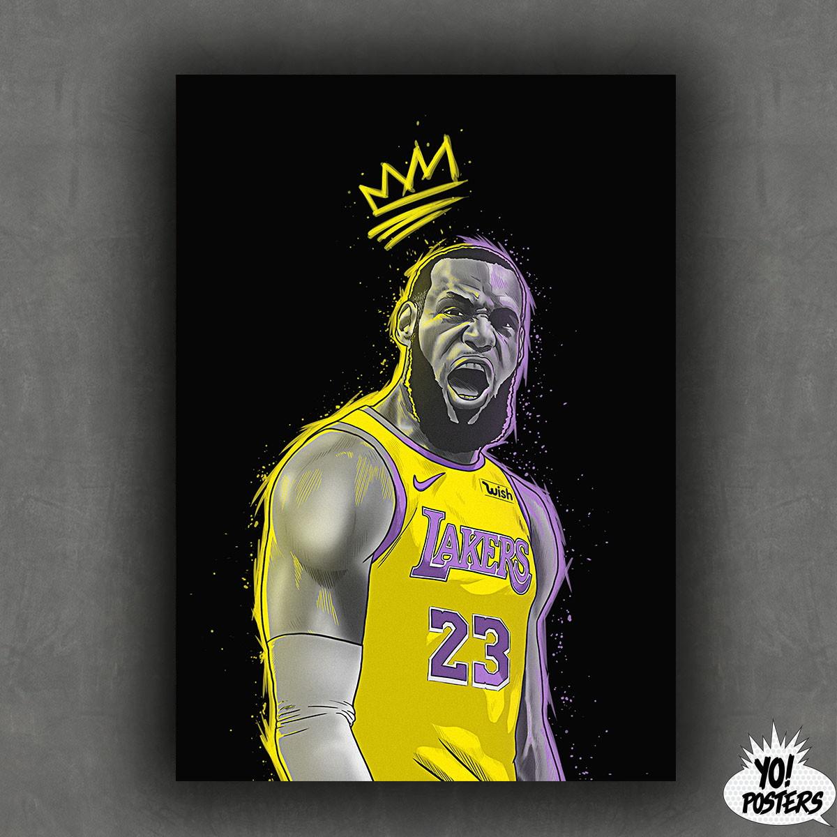 fa00557da Caneca Los Angeles Lakers Lebron James