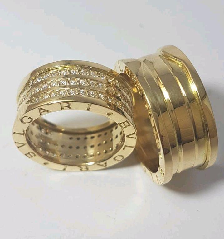 368fa50571562 Alianca de Ouro Modelo Bvlgari
