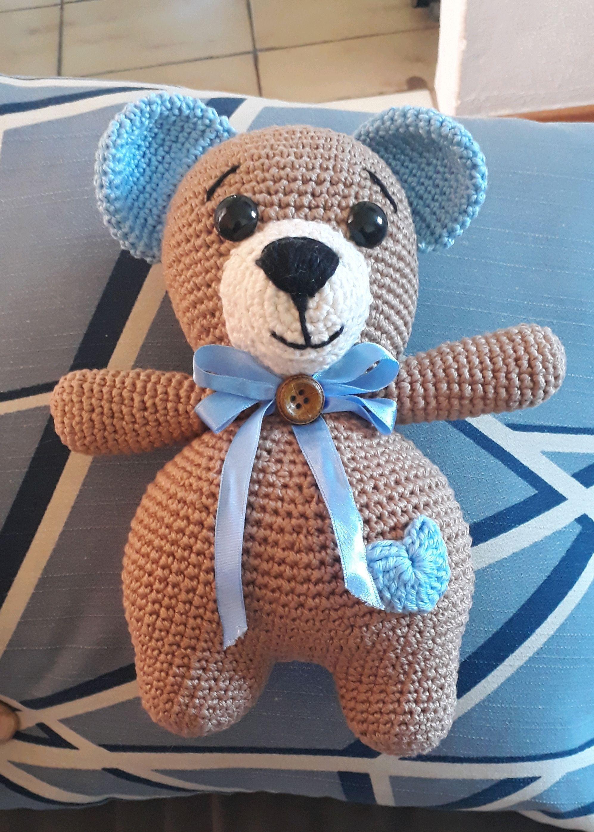 Amigurumi: Ursinho marrom | Bichinhos de croche, Padrões de ... | 2789x1993