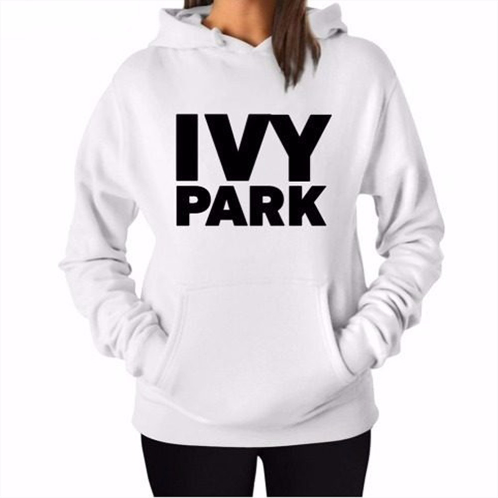 28d1a3bee0 Blusa Moletom Canguru Ivy Park Beyoncé Fashion Branco no Elo7