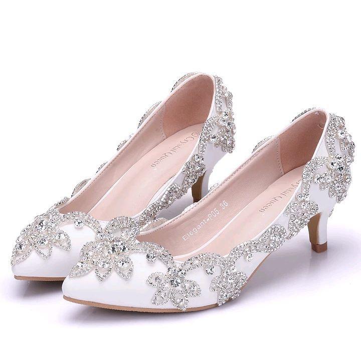 3e827bf83 Sapato de Noiva Baixo | Elo7