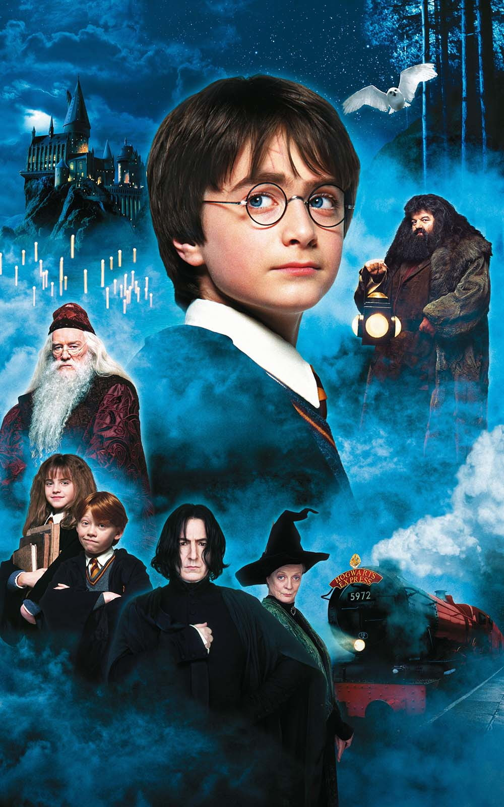 Big Poster Harry Potter e a Pedra Filosofal LO03 90x60 cm no Elo7 ...