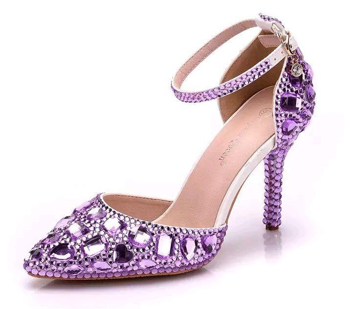 8dc6f8716 Sapato Lilás | Elo7