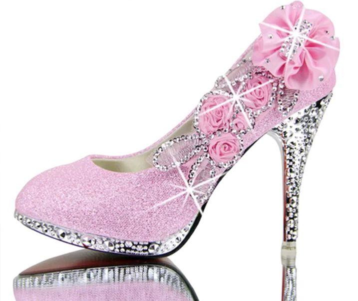 957e904c1 Sapato de Noiva Personalizado Dourado Glitter | Elo7