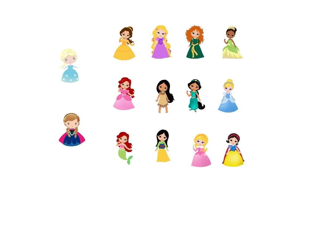 13 120 7 Kit Aplique Princesas Disney Baby 7cm No Elo7 Vereda