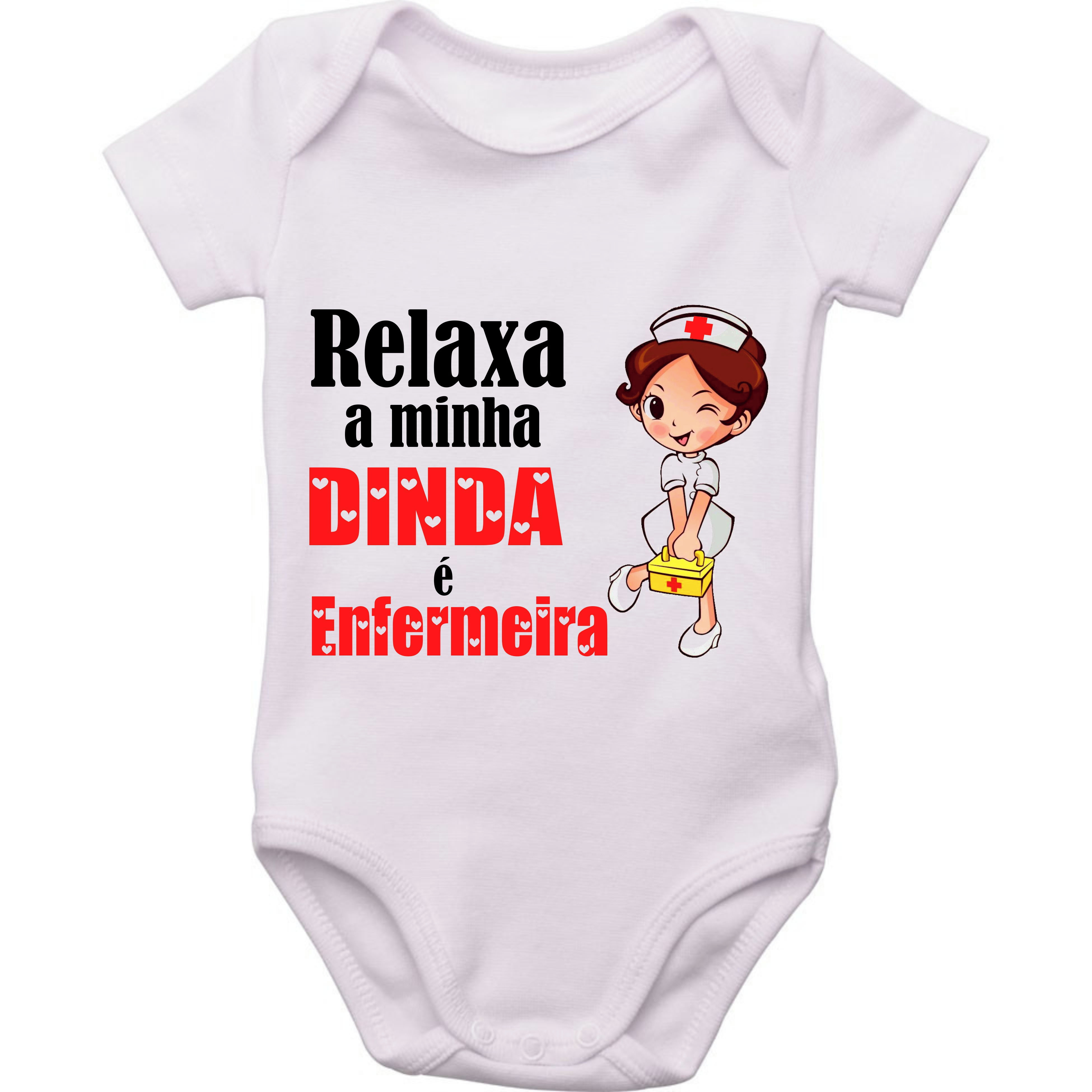 Body Do Bebe Relaxa A Minha Dinda E Enfermeira No Elo7 Your