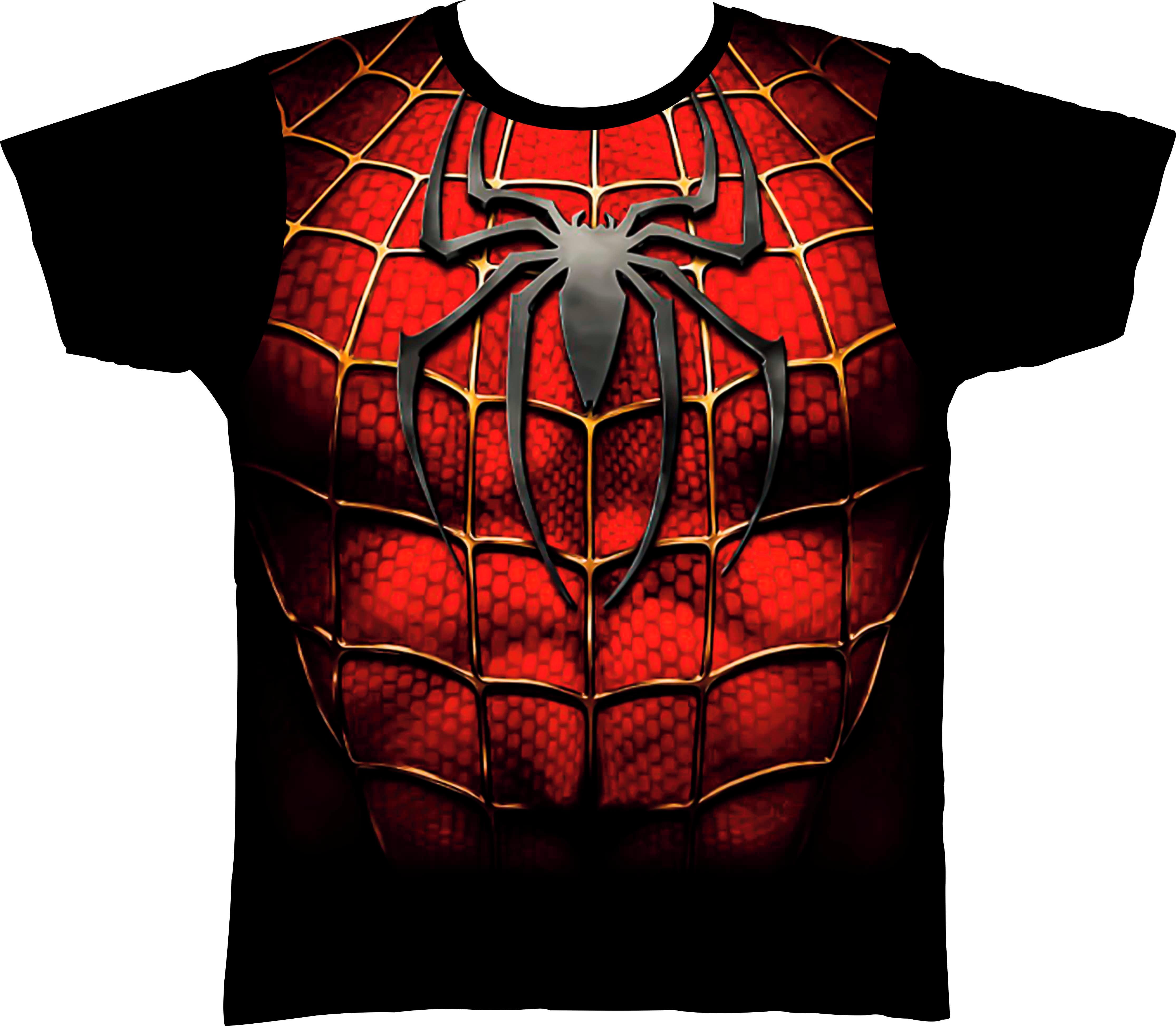 5bbd0ac05 Camiseta Fantasia Personaliza Heroi Homem Aranha Spiderman no Elo7 ...