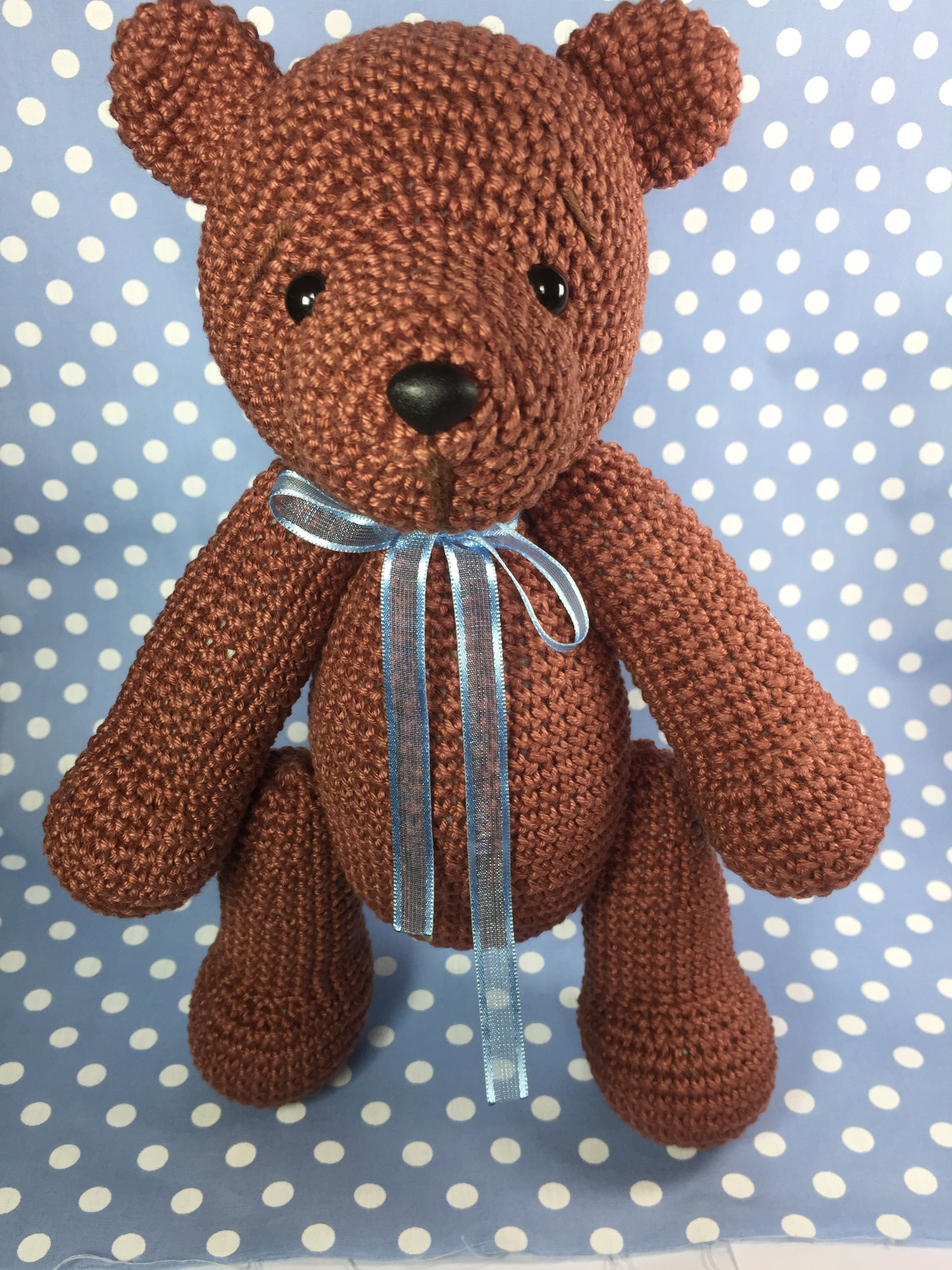 Bear Crochet Pattern; PDF; Black Bear, Brown Bear, Polar Bear ... | 3264x2448