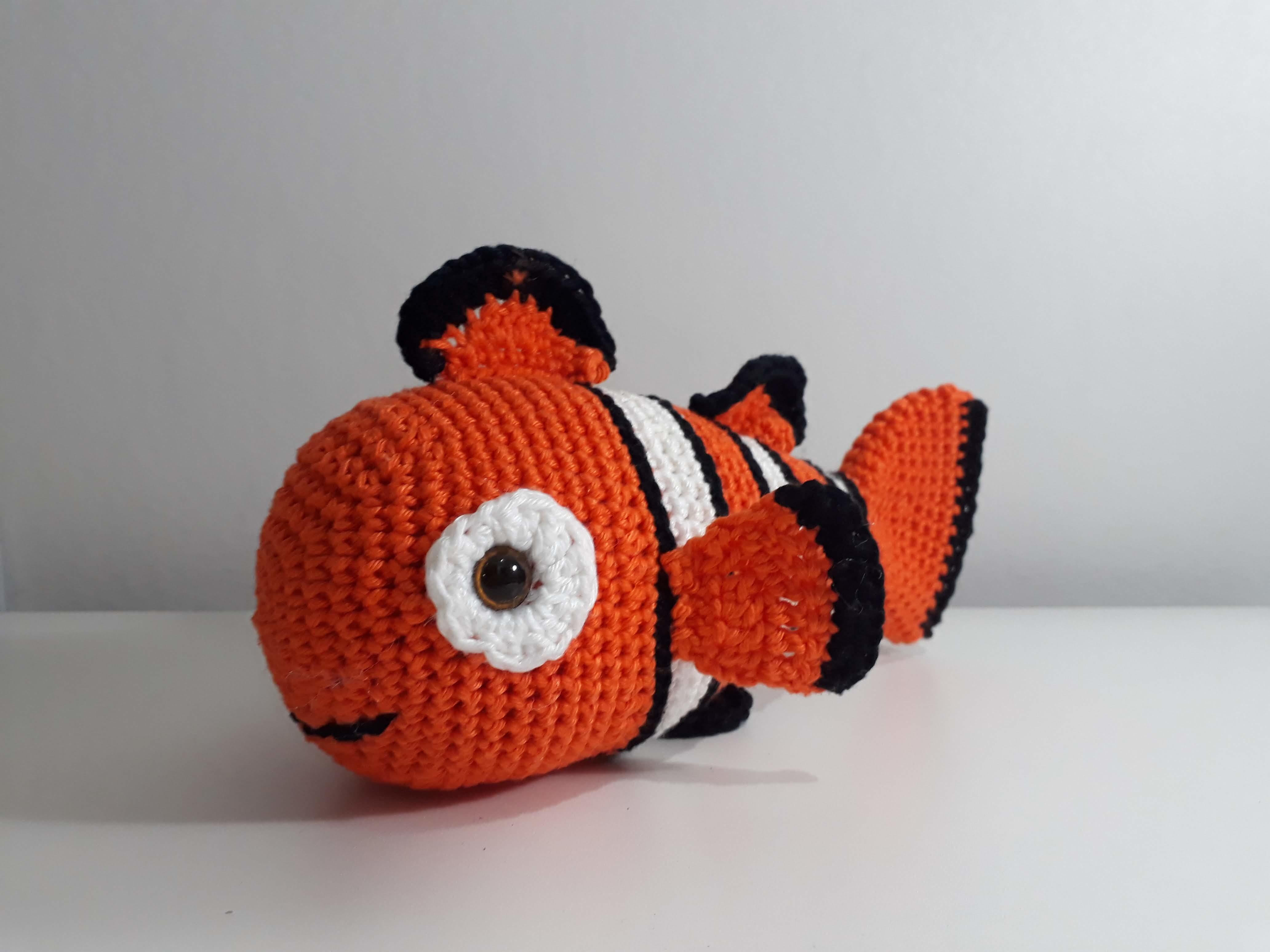 Nemo amigurumi no Elo7 | Pão de Mel Amigurumis (DA2DEF) | 3096x4128