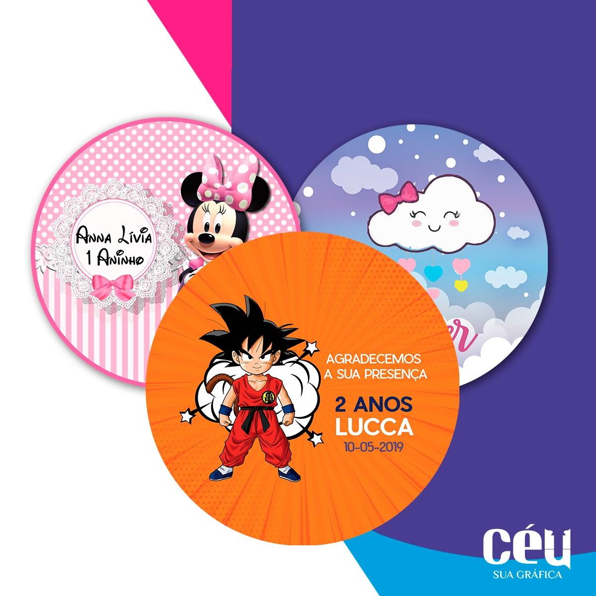 f27b8f7df6293b Adesivos Personalizados para Festa Infantil | Elo7