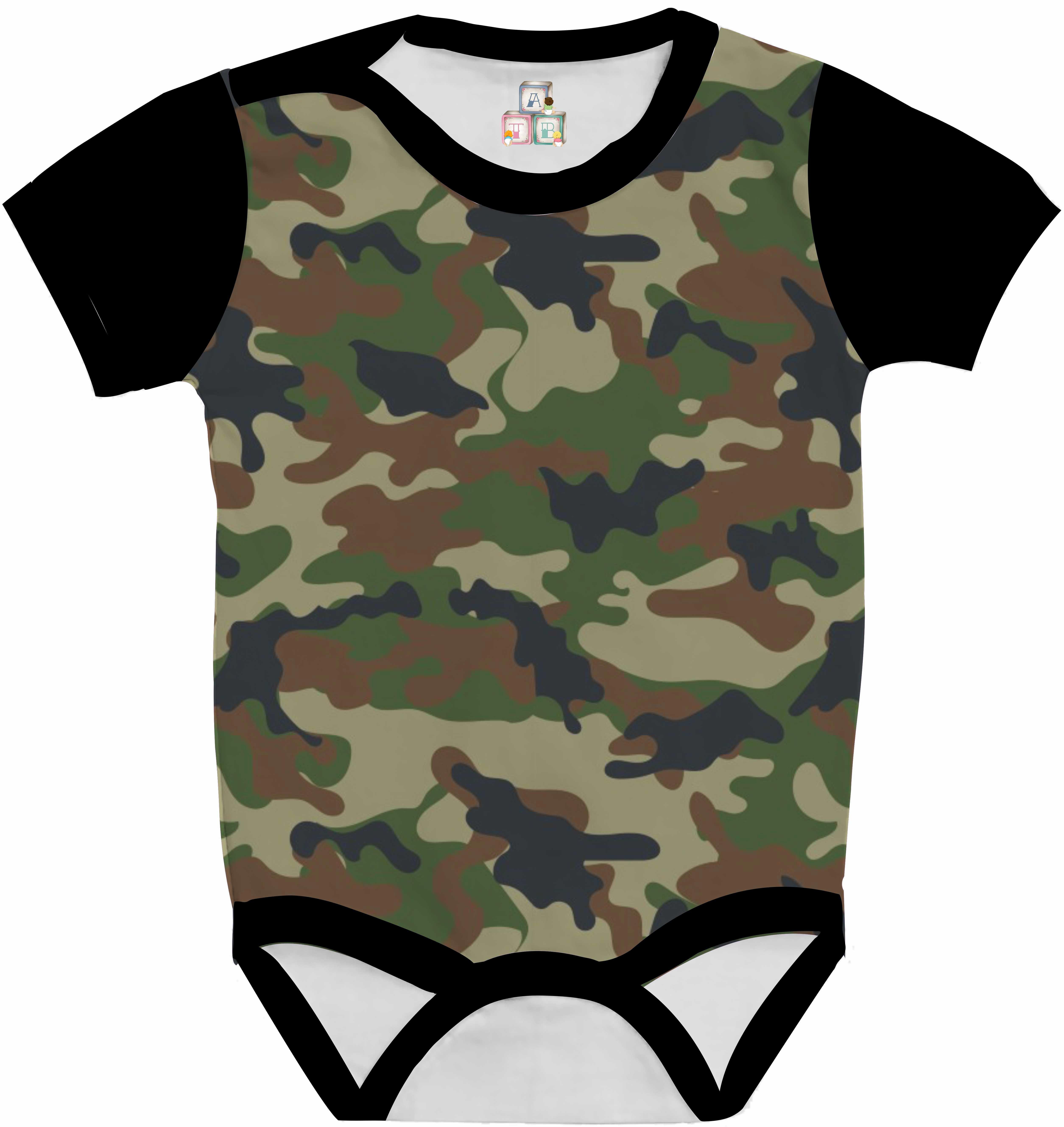 49ed1c656 Camisa Grafite Militar | Elo7