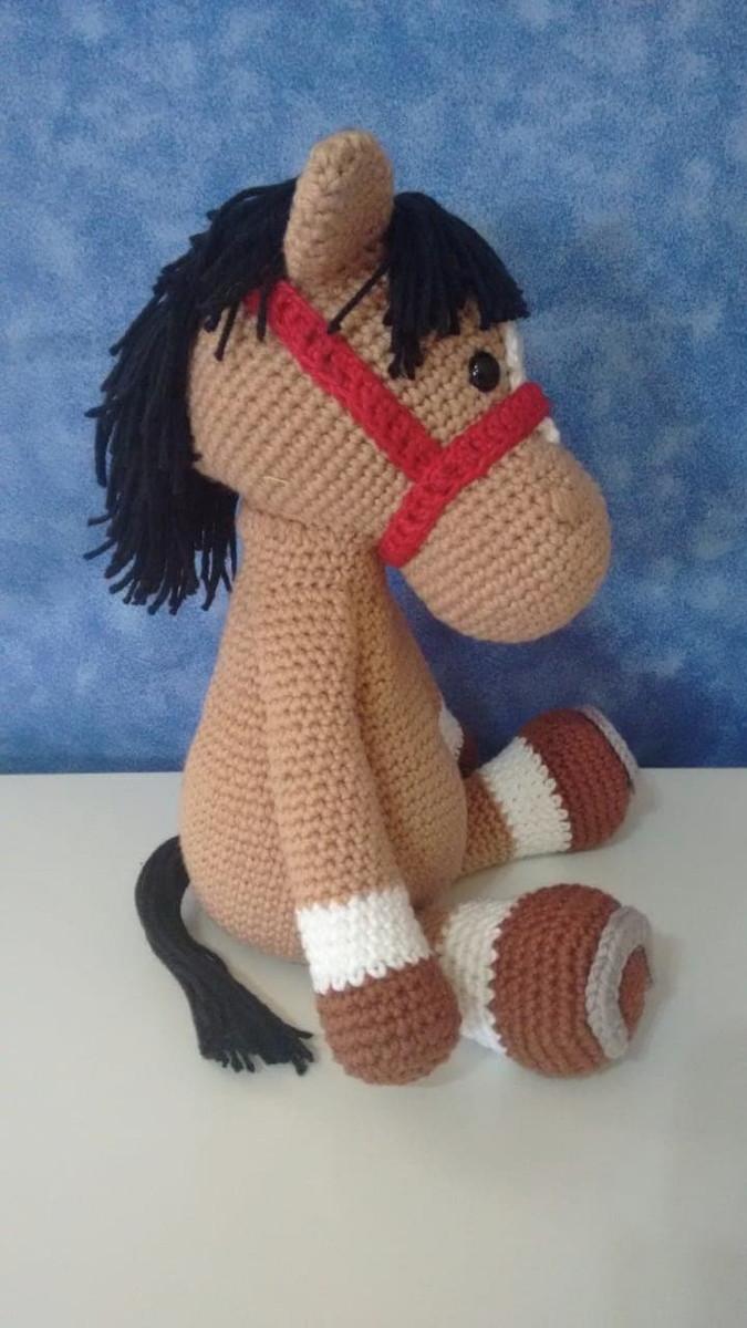 Tutorial Amigurumi - Cavalo com sela (PARTE 1) - YouTube   1200x675