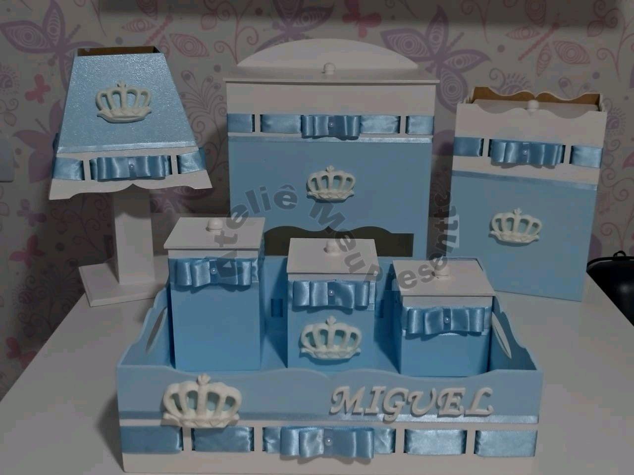 40f0b9a7e9 Todos com Lacinho da Cor Azul Bebe | Elo7