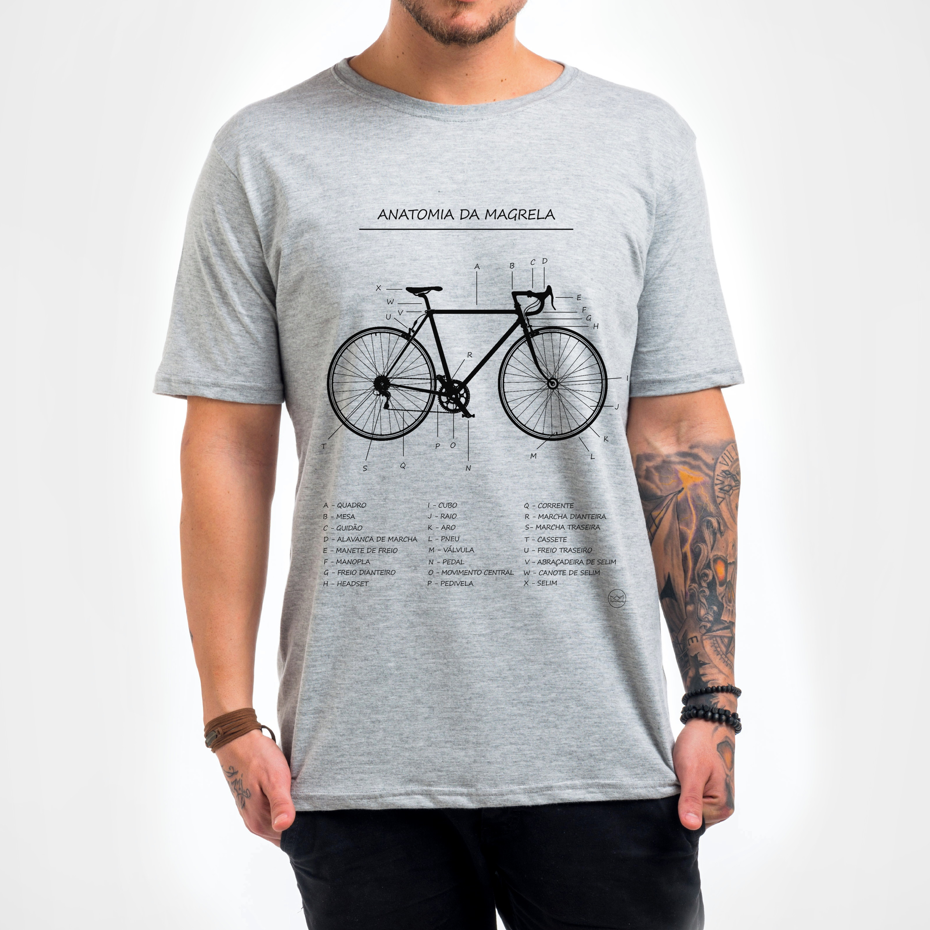 45dfeac74 Camiseta Masculina Mountain Bike   Elo7