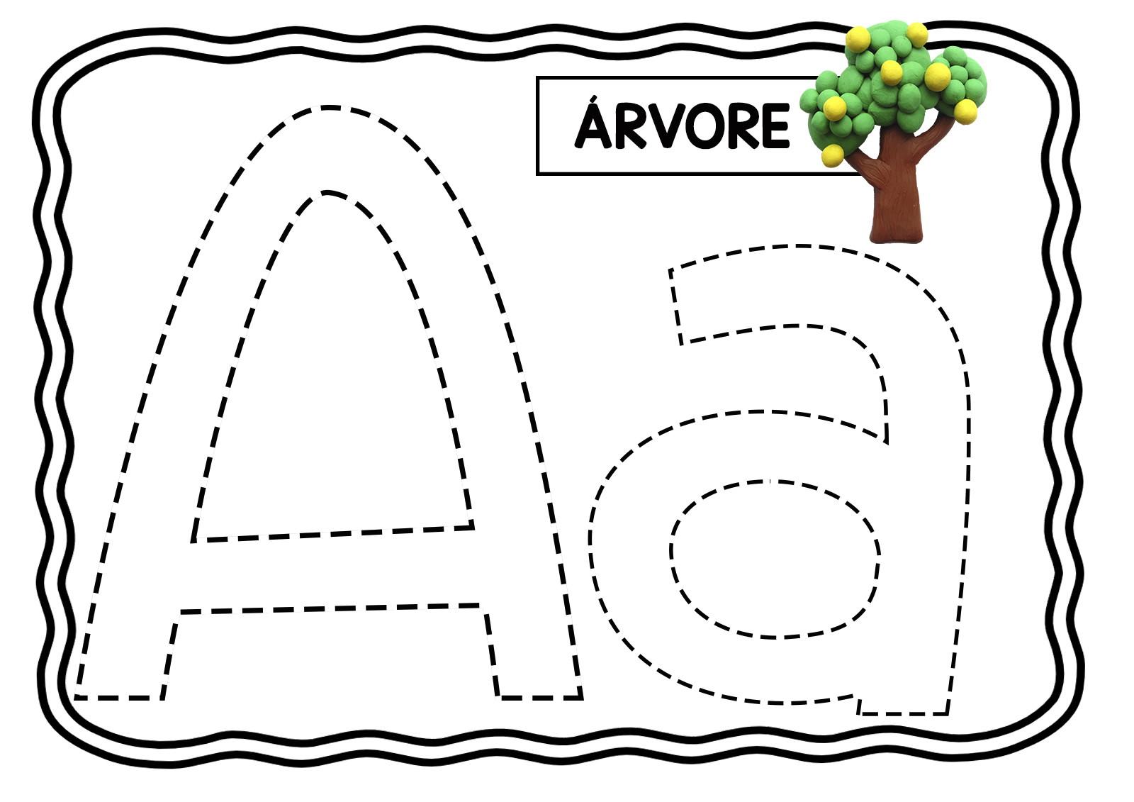 Livro De Modelar Atividades Educacao Infantil Alfabeto Pdf8 No