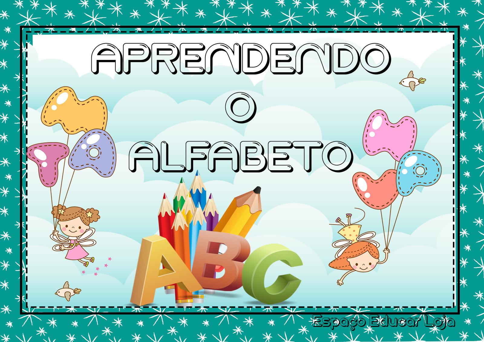 Aprendendo O Alfabeto Atividades Alfabetizacao Pdf 012 No Elo7