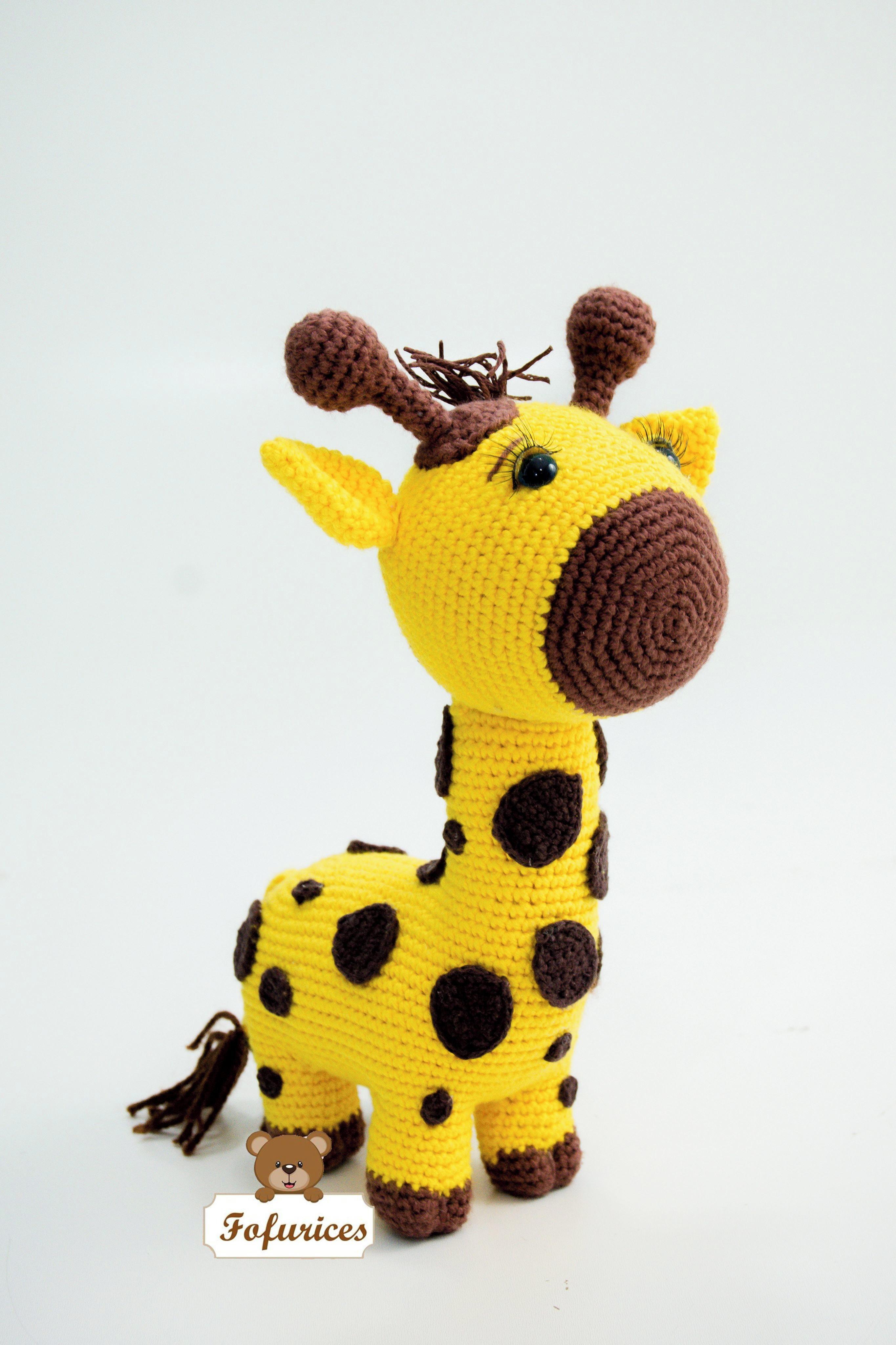 Receita Gael, o Bebê Girafa Amigurumi, Crochê no Elo7 | Carol ... | 4096x2730