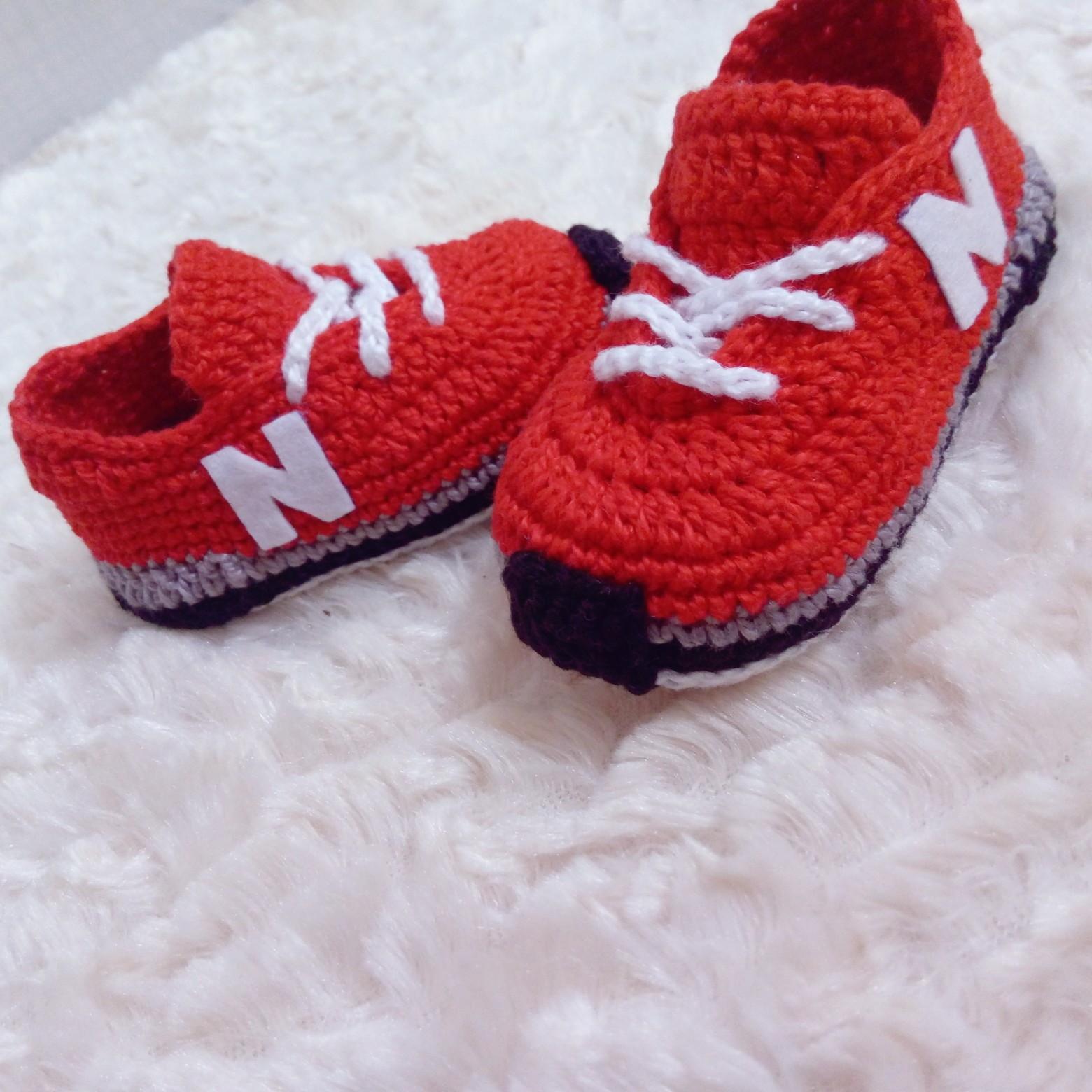 105a1b3a724 Ténis New Balance Newborn Croche