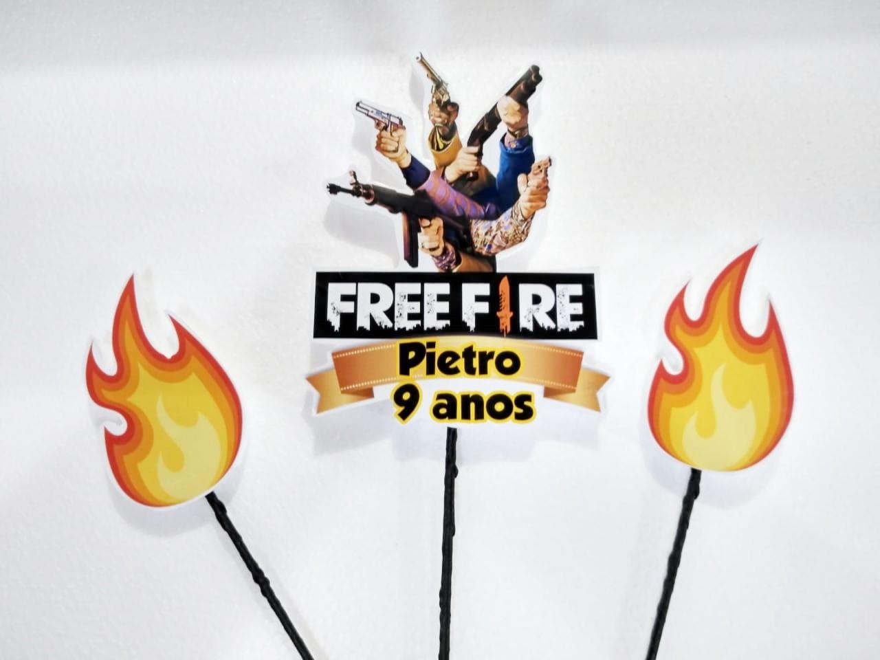 Topo De Bolo Free Fire Png Para Imprimir