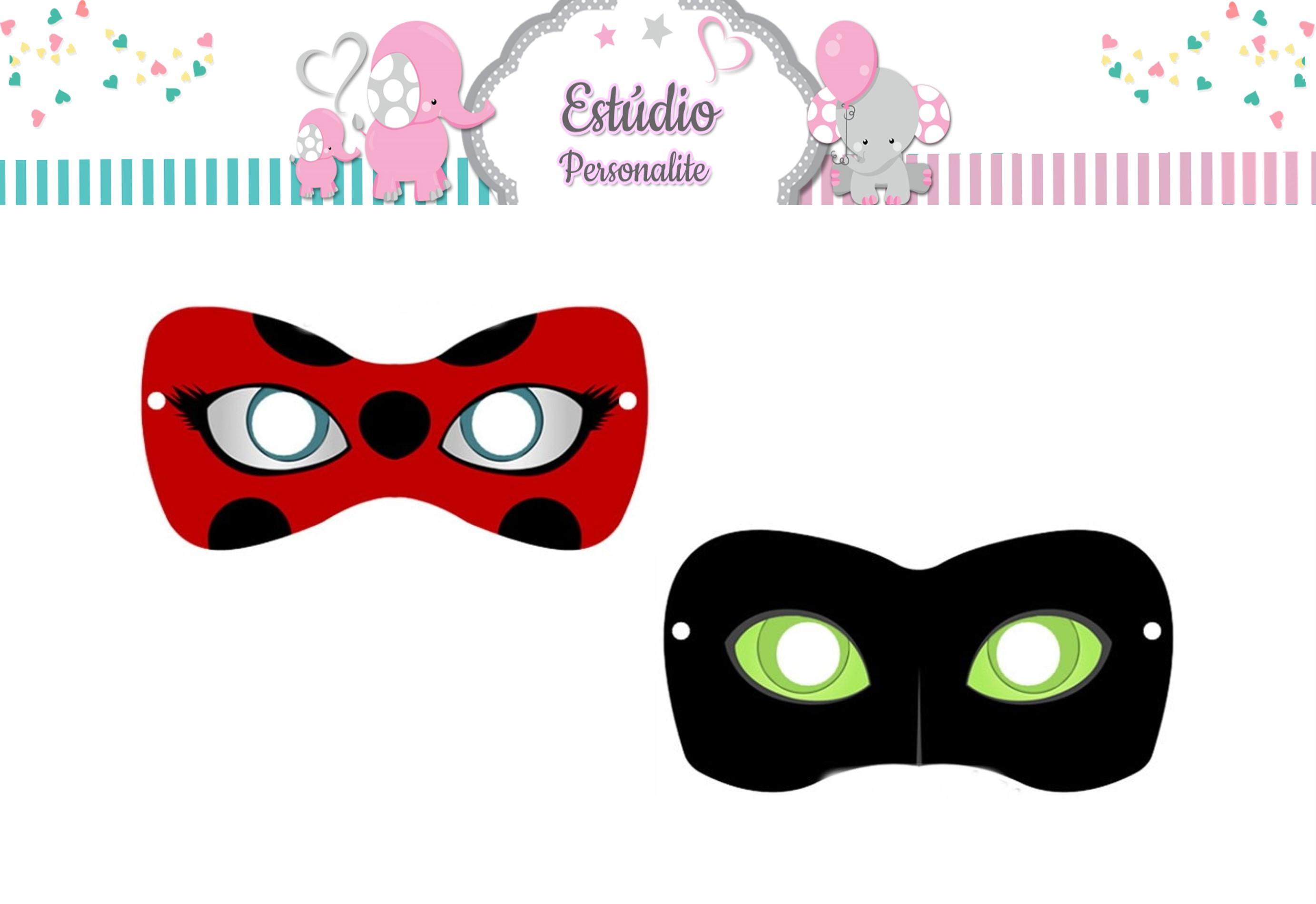 Mascaras Ladybug No Elo7 Estudio Personalite F4c0d6