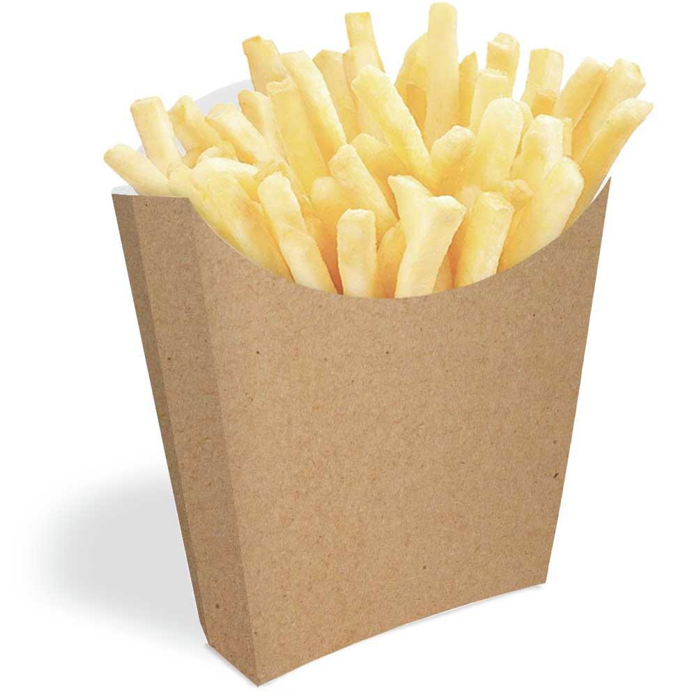 Caixinha Embalagem Batata Frita 500un Branco Ou Kraft No Elo7