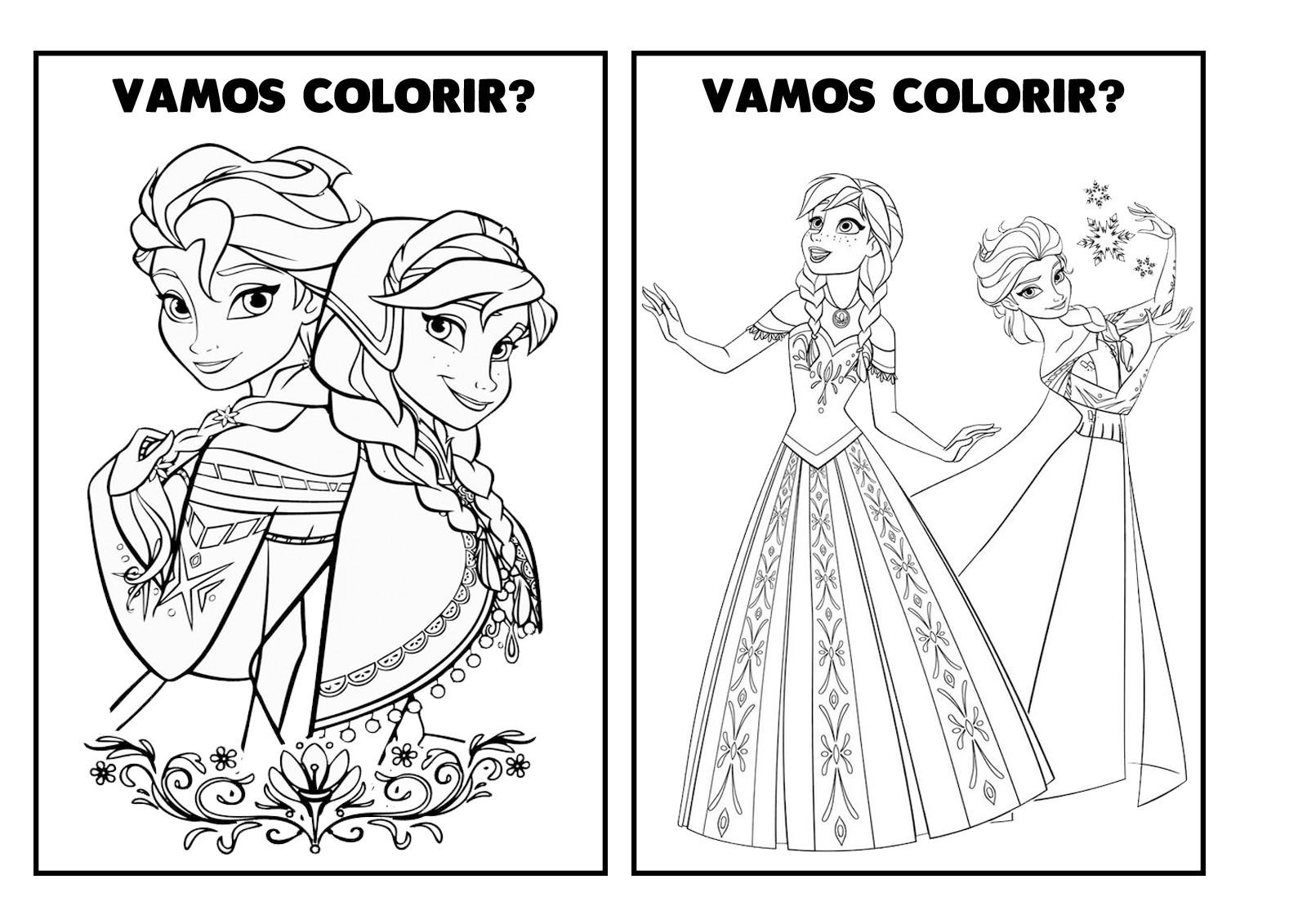 Revista De Colorir Frozen 31 No Elo7 Espaco Educar Loja F5f3dd