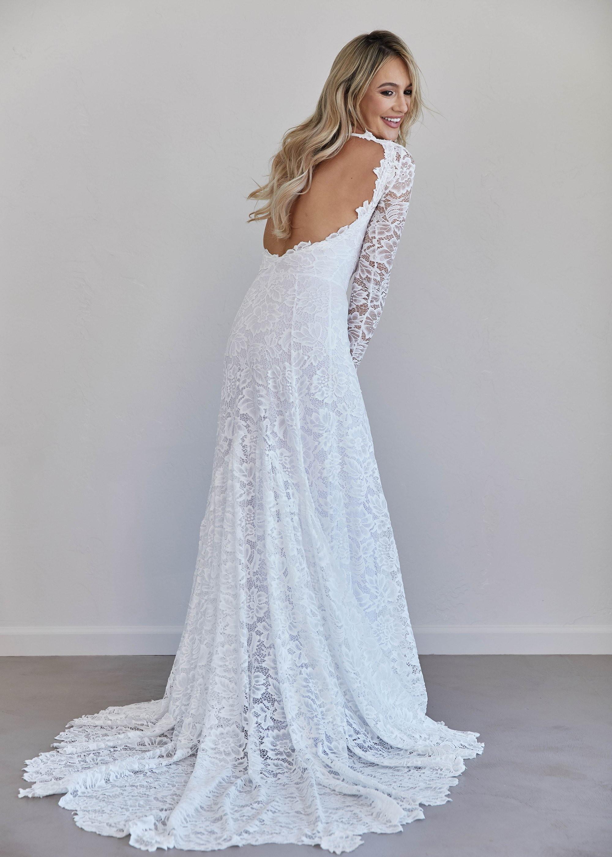 Vestido De Noiva Simples E Elegante Elo7