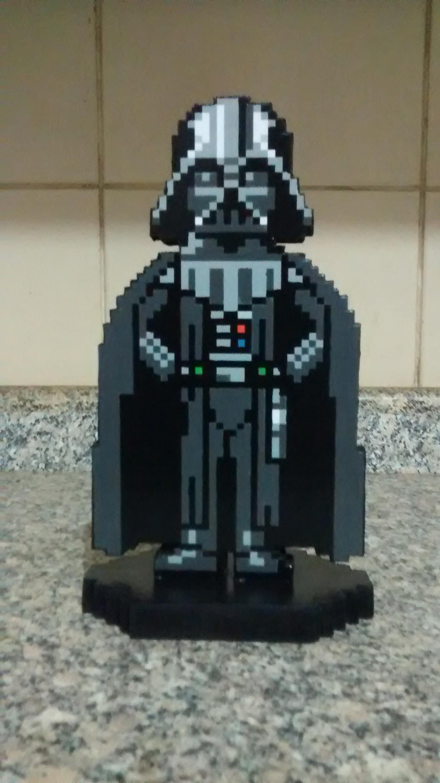 Darth Vader Pixel Art