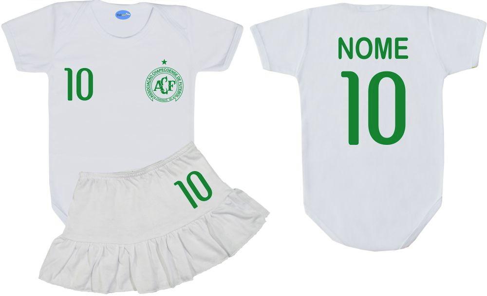 b424a515eb Conjunto Uniforme para Bebê Time Futebol Chapecoense no Elo7 | Loja Bebê  Mel (F6333E)