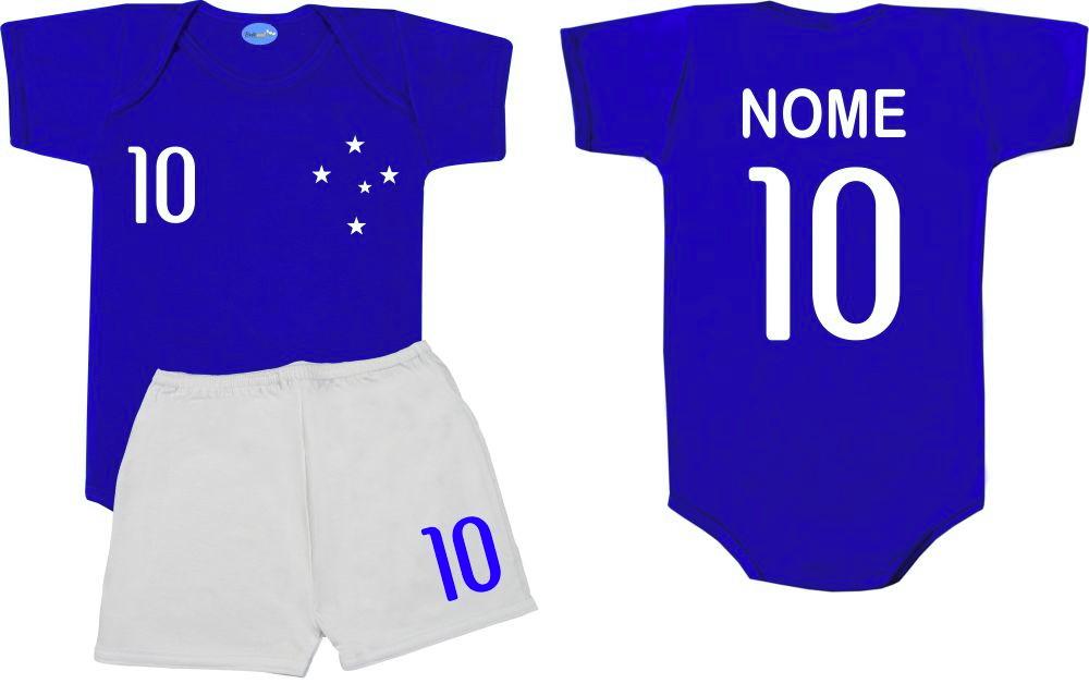 9063593165 Uniforme Futebol Baby Croche | Elo7
