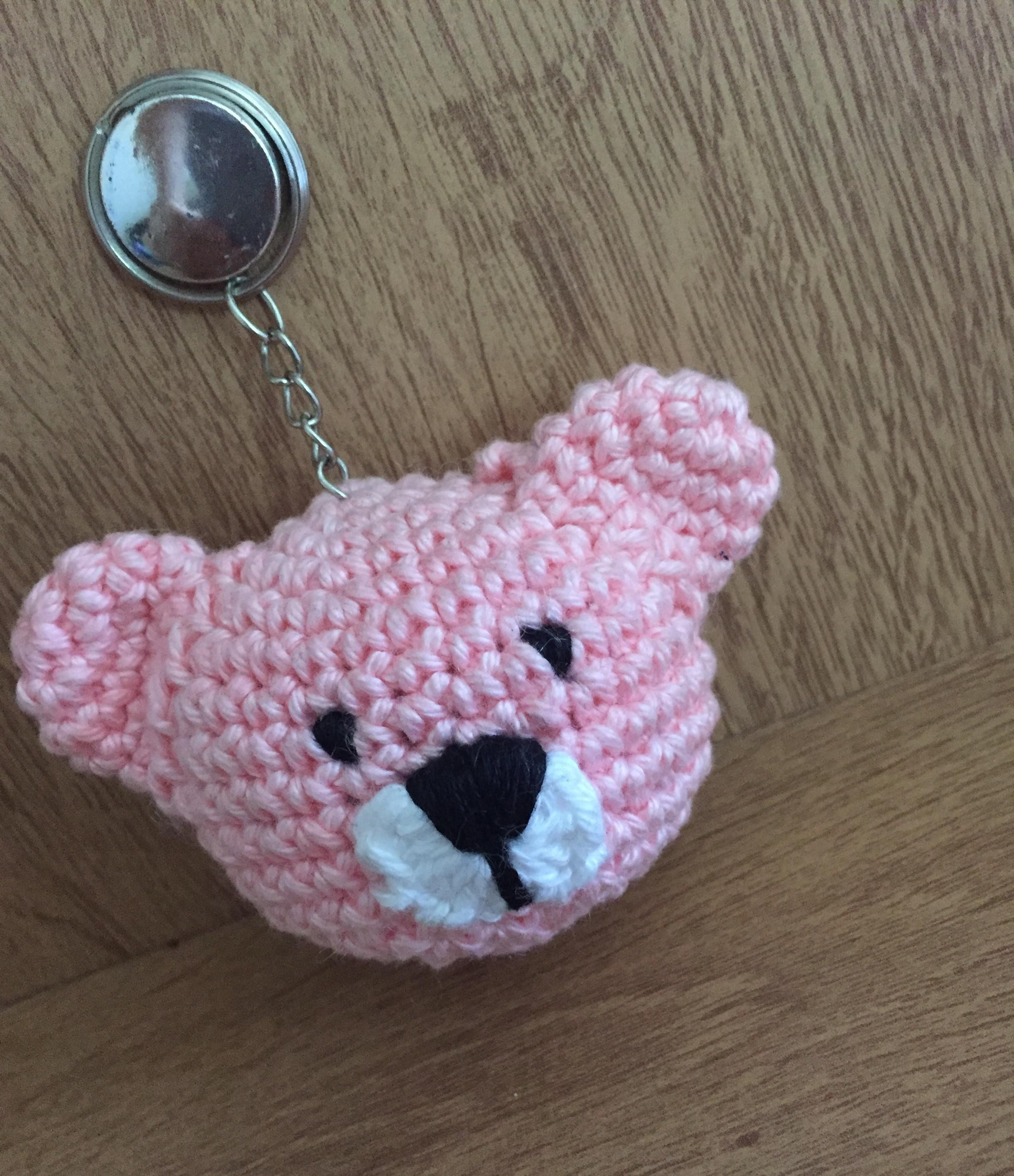 Chaveiro Amigurumi - Urso Teddy Bear no Elo7   Leila Amigurumi ...   2838x2448