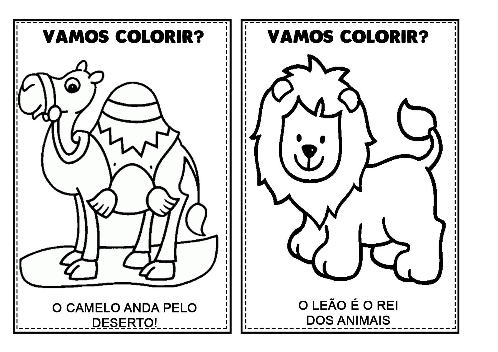 Revista De Colorir Animais Pdf 42 No Elo7 Espaco Educar Loja