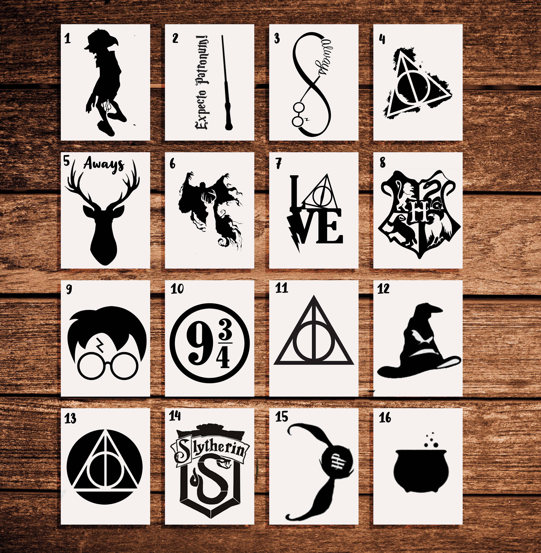 Stickers Harry Potter A Prova De Agua No Elo7 Patronoom F7a1a4