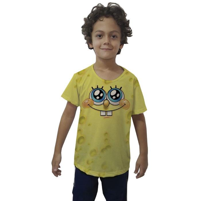 2b02c419f4 Camiseta Bob Esponja Feminina   Elo7