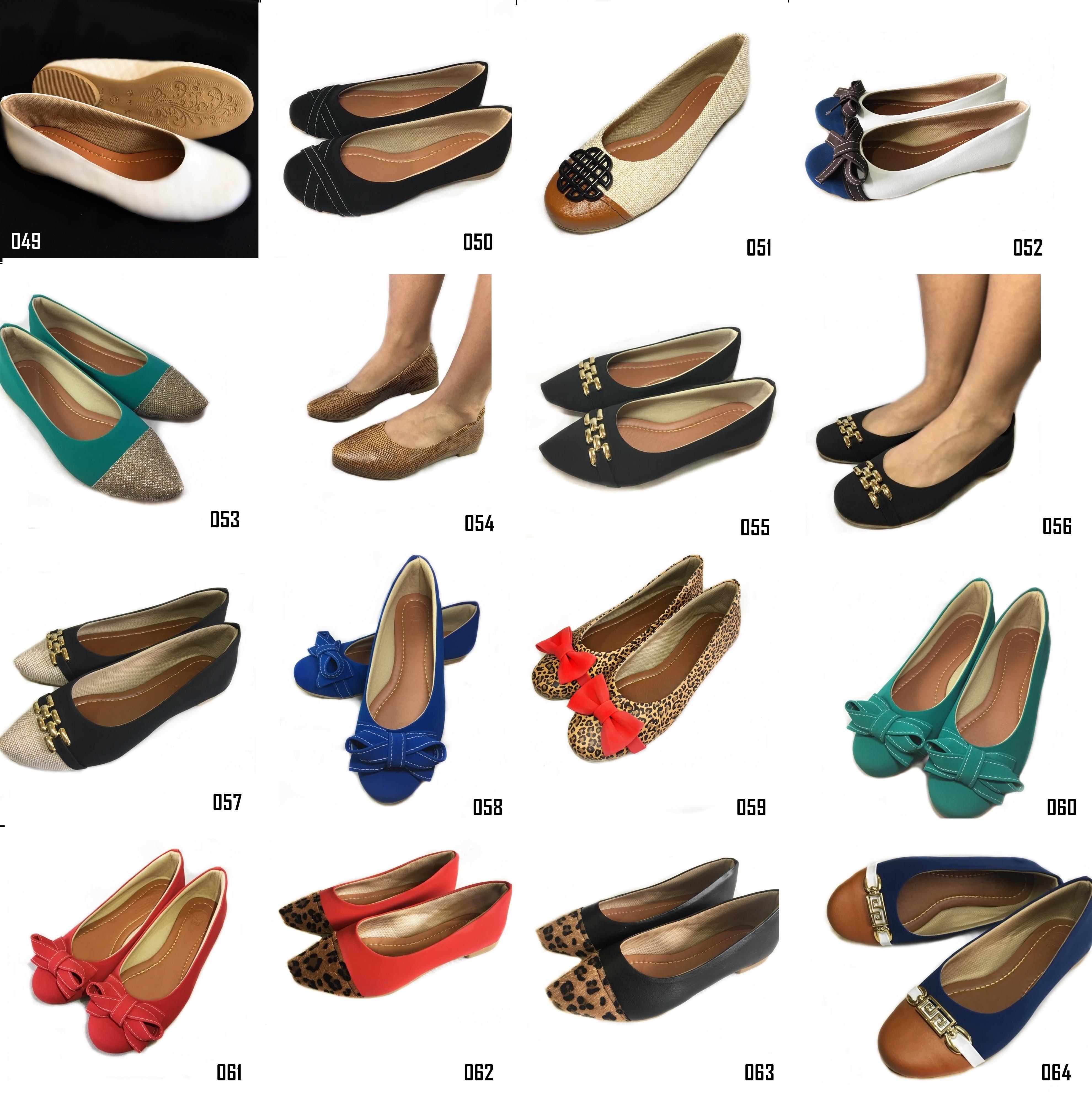 71b1dd2e8 Kit 6 pares sapatilha atacado revenda no Elo7 | Likka Calçados Femininos  (D370EB)