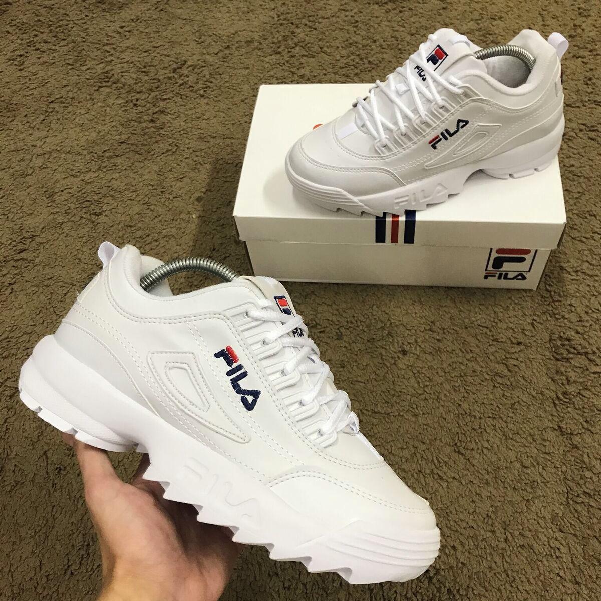 b55ac337f2cde Tênis Fila Disruptor Branco/preto Feminino Numeração 26ao 43 no Elo7 |  Aloha Shoes (F82498)