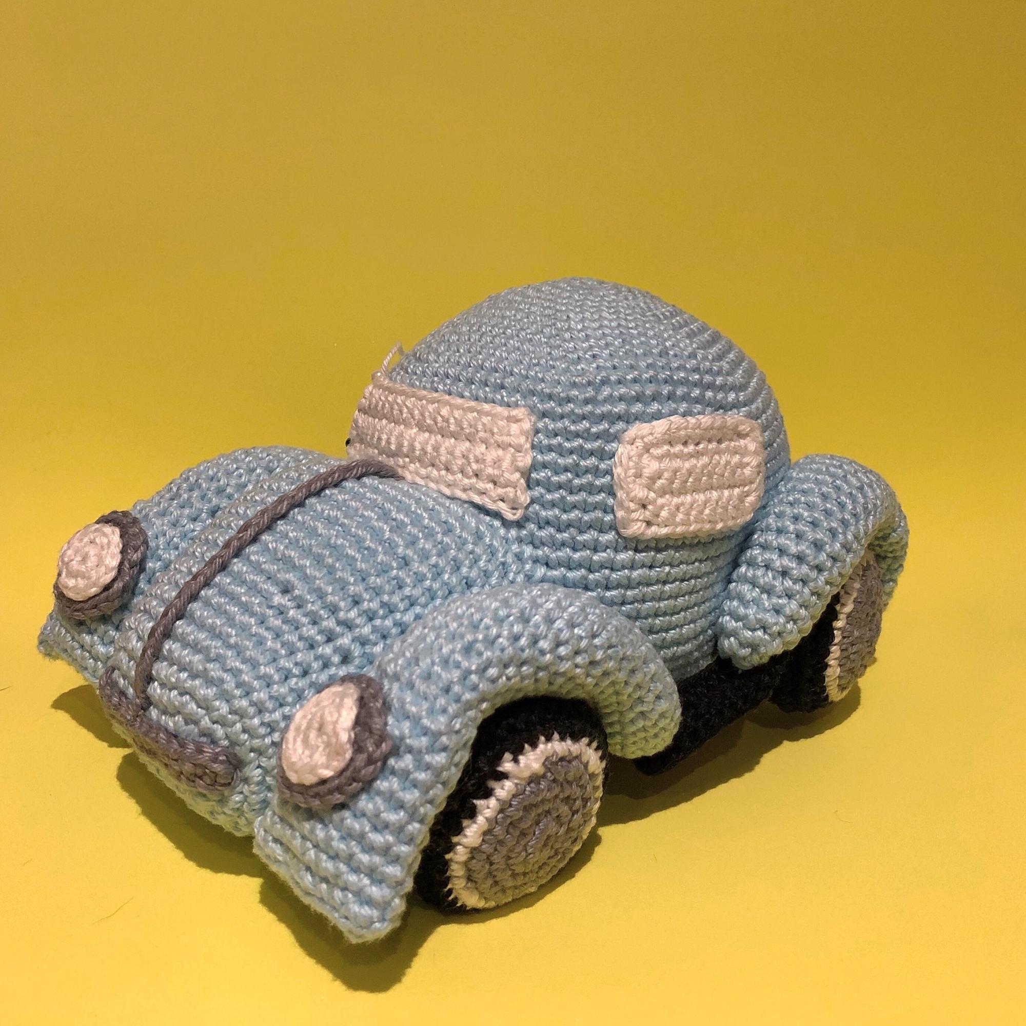 🚗 Fusca em Crochê - / 🚗 Volkswagen Beetle up Crochet ... | 2000x2000