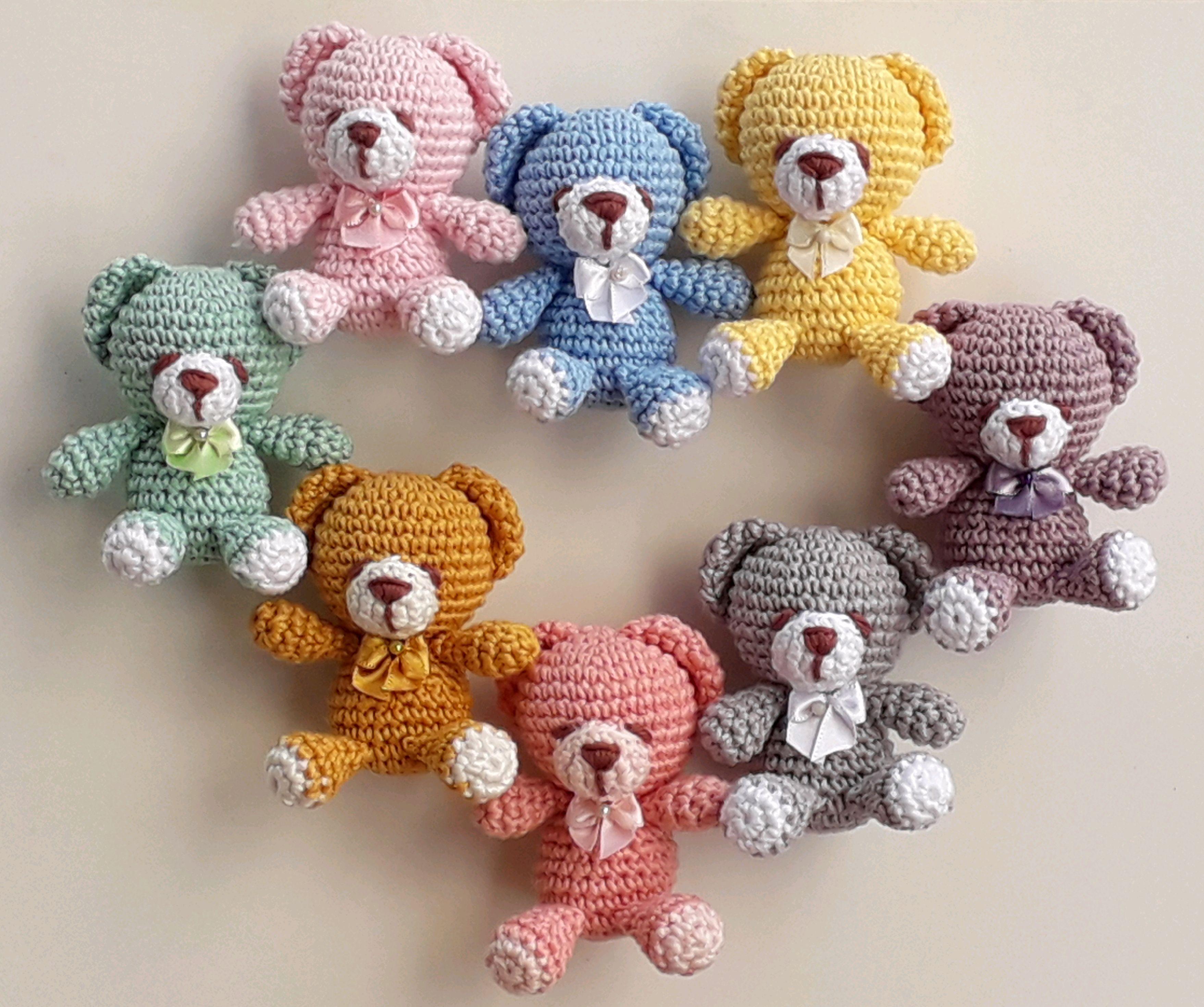 Amigurumis Urso | Clique na Foto e Aprenda Crochê Passo a Passo Em ... | 2941x3515