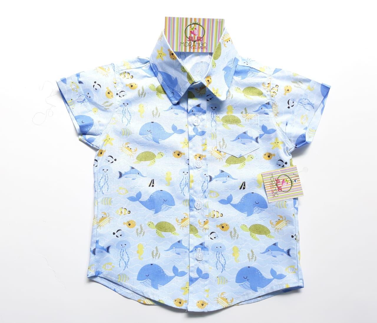 2927c20a7303 Camisa Marinho | Elo7