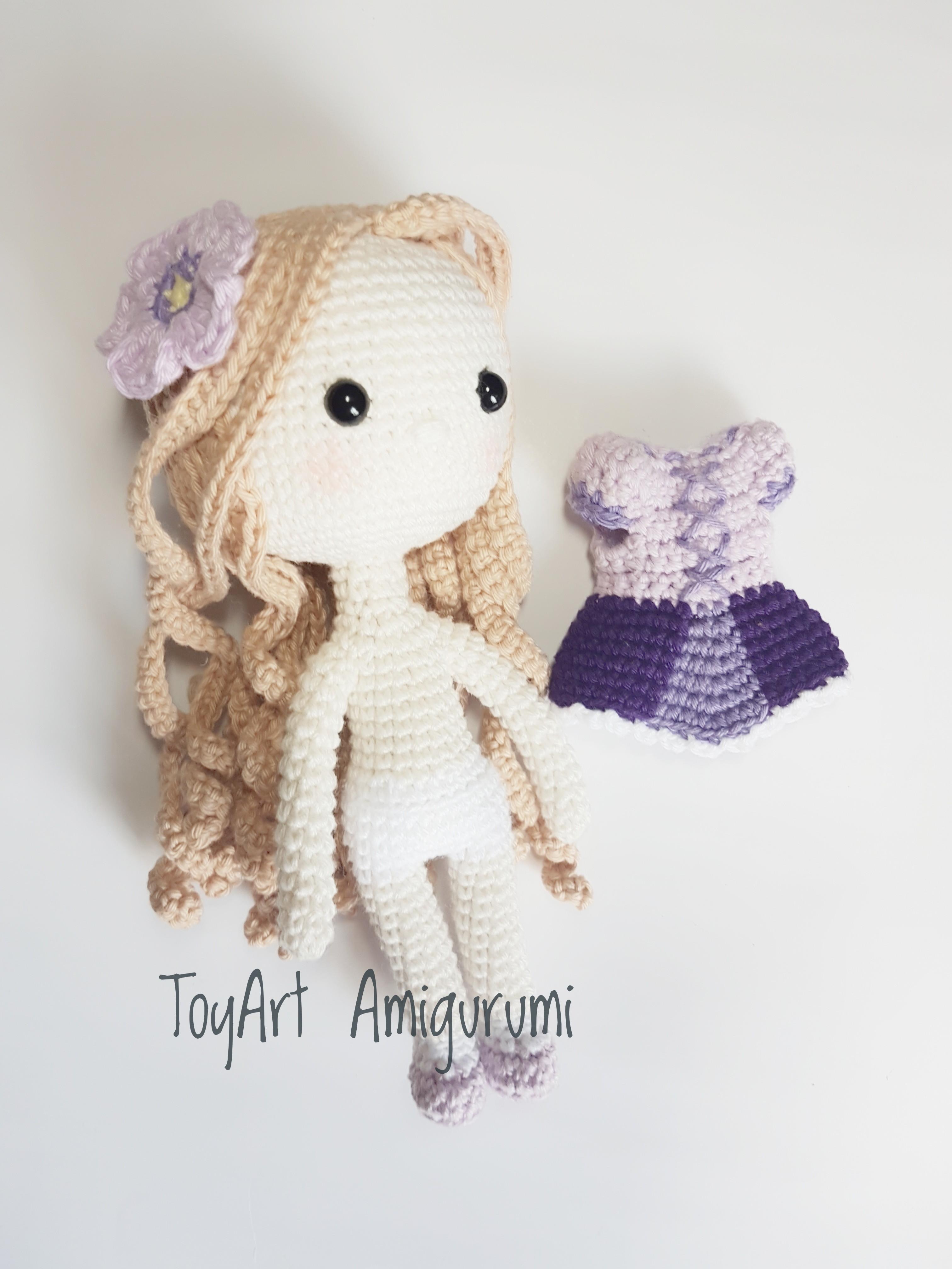 Rapunzel Amigurumi - YouTube | 4032x3024