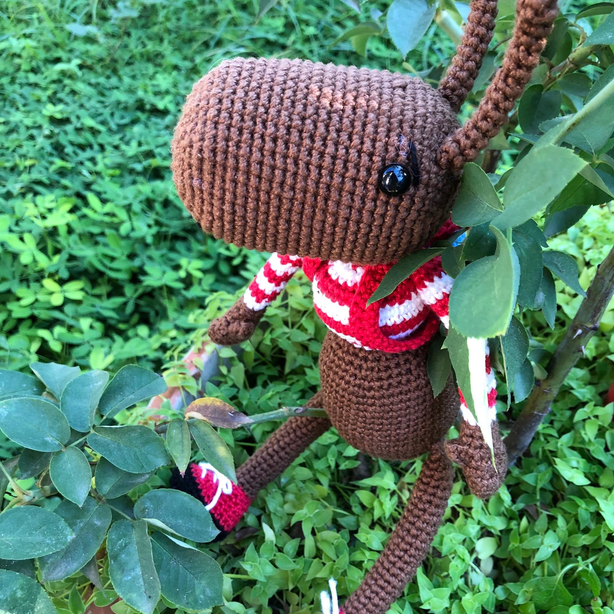 Amigurumi Ant Free Crochet Pattern | Brinquedos de crochê ... | 2000x2000
